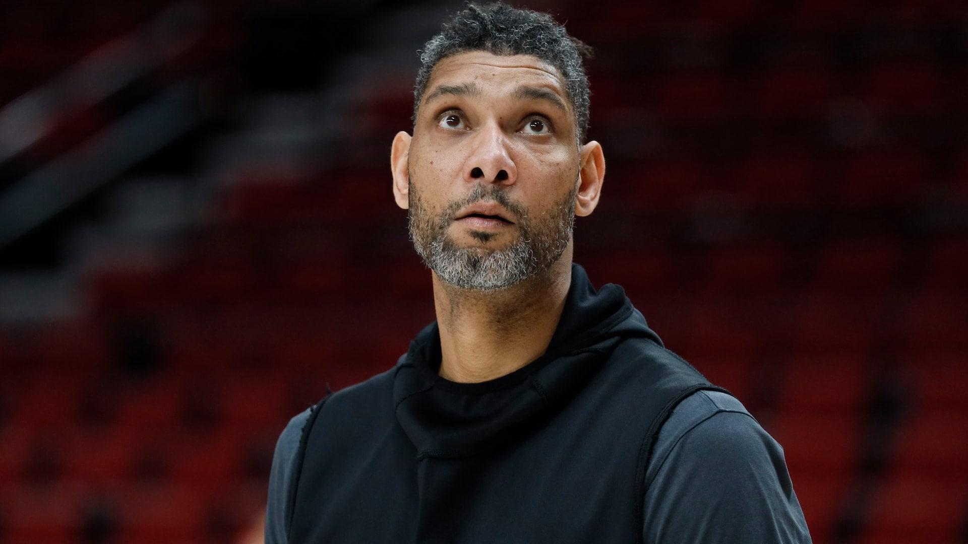 Tim Duncan stays behind as Spurs restart season in Orlando