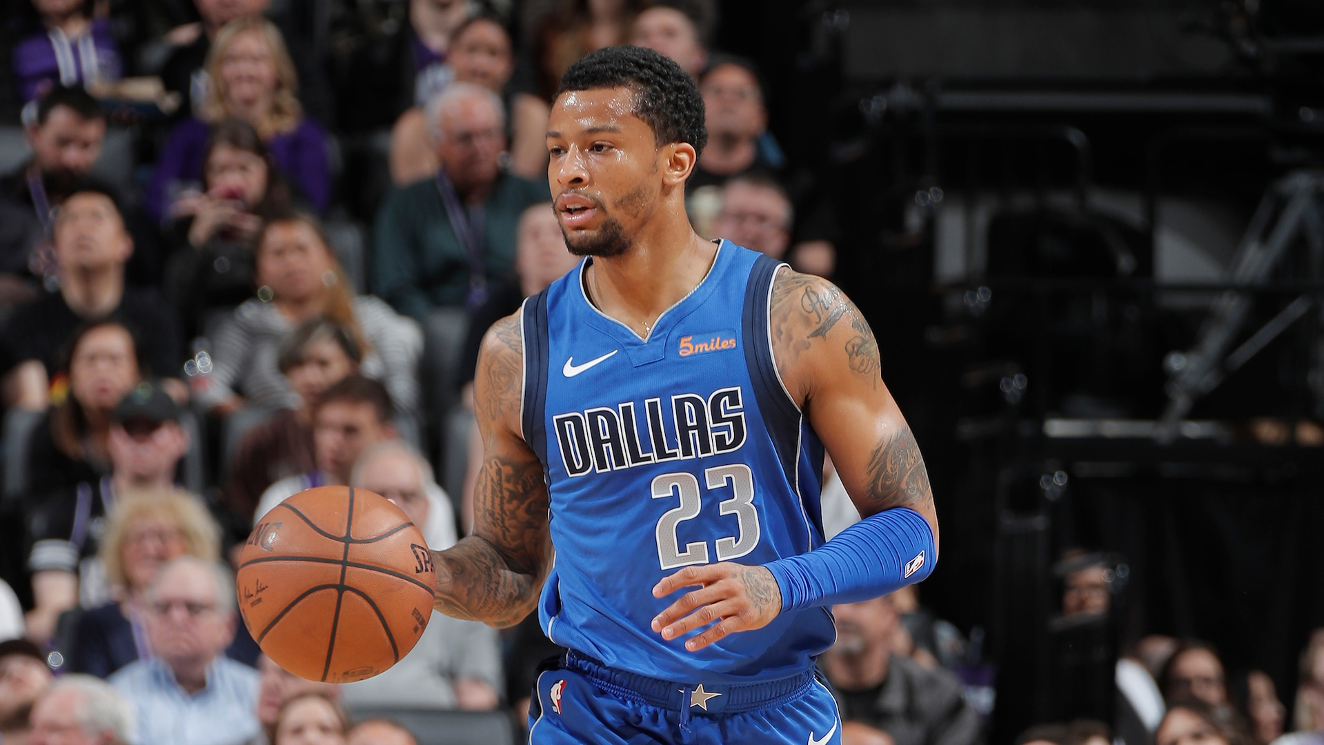 Mavericks sign Trey Burke as substitute player