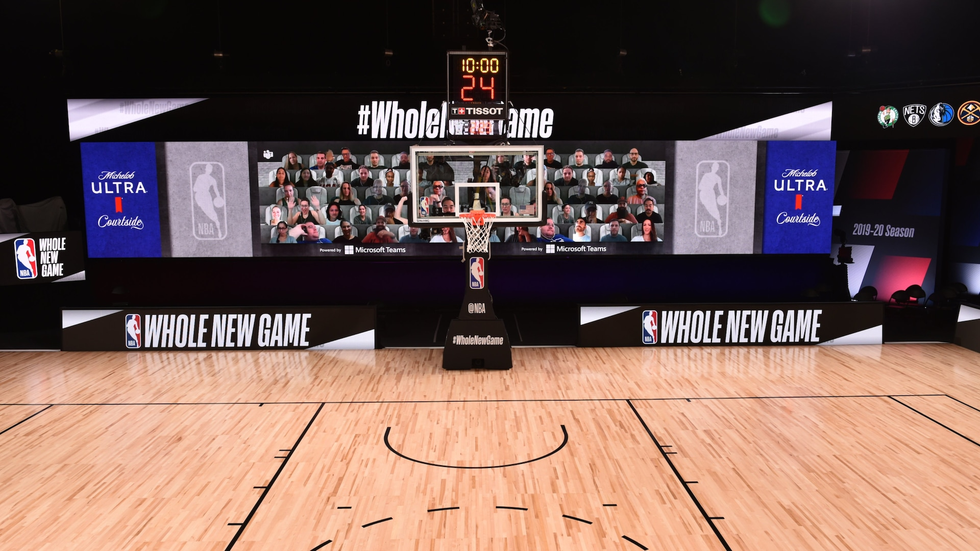 NBA to unveil unique in-venue and broadcast enhancements for 2019-20 season restart