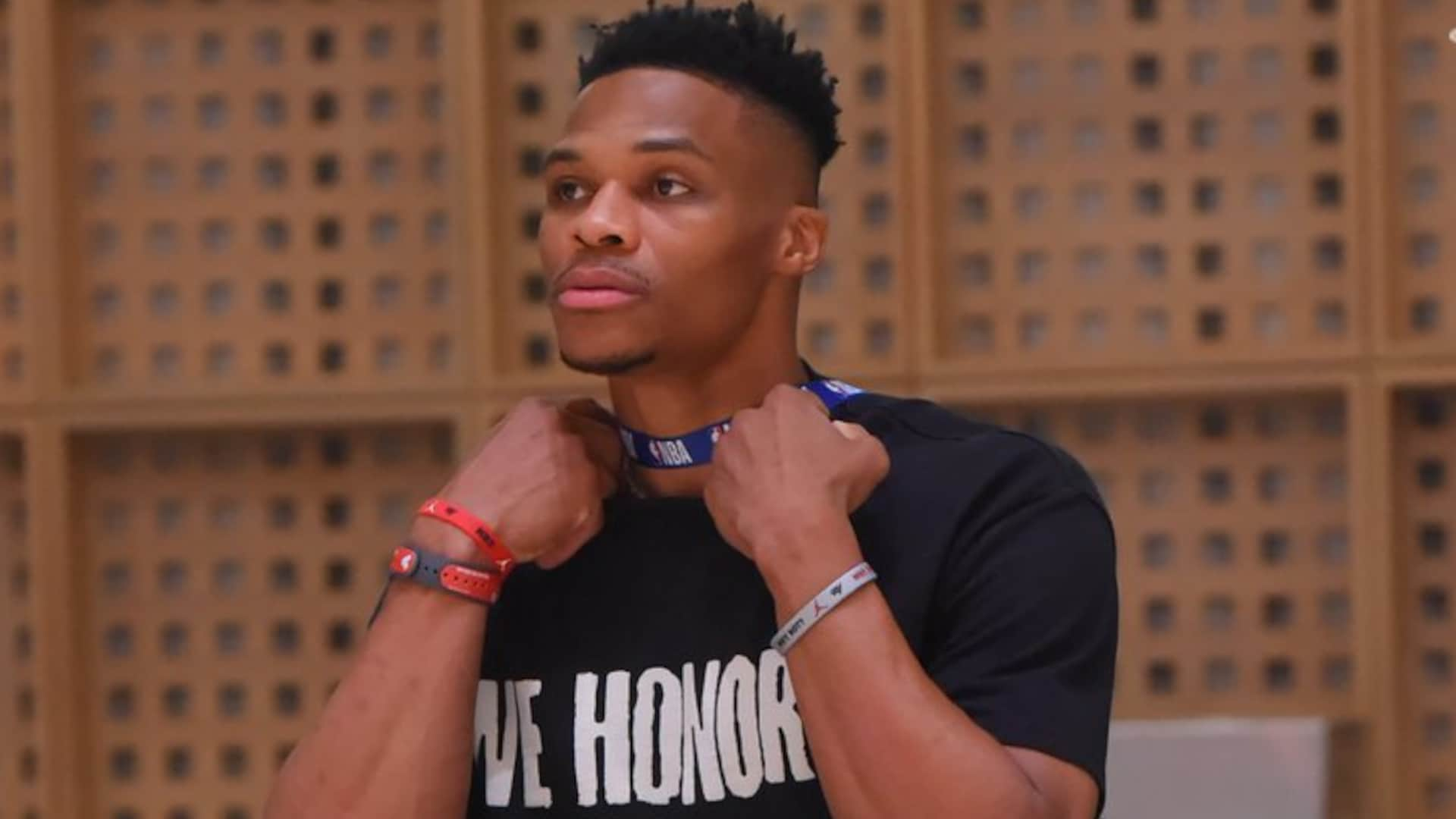 Russell Westbrook clears protocol, joins Rockets' practice