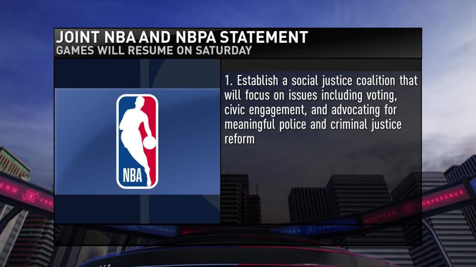 Latest news: NBA playoffs to resume on Aug. 29