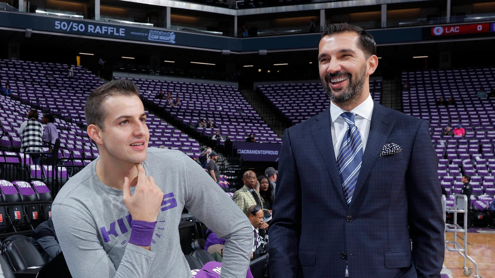 Peja Stojakovic steps down as Kings' assistant GM