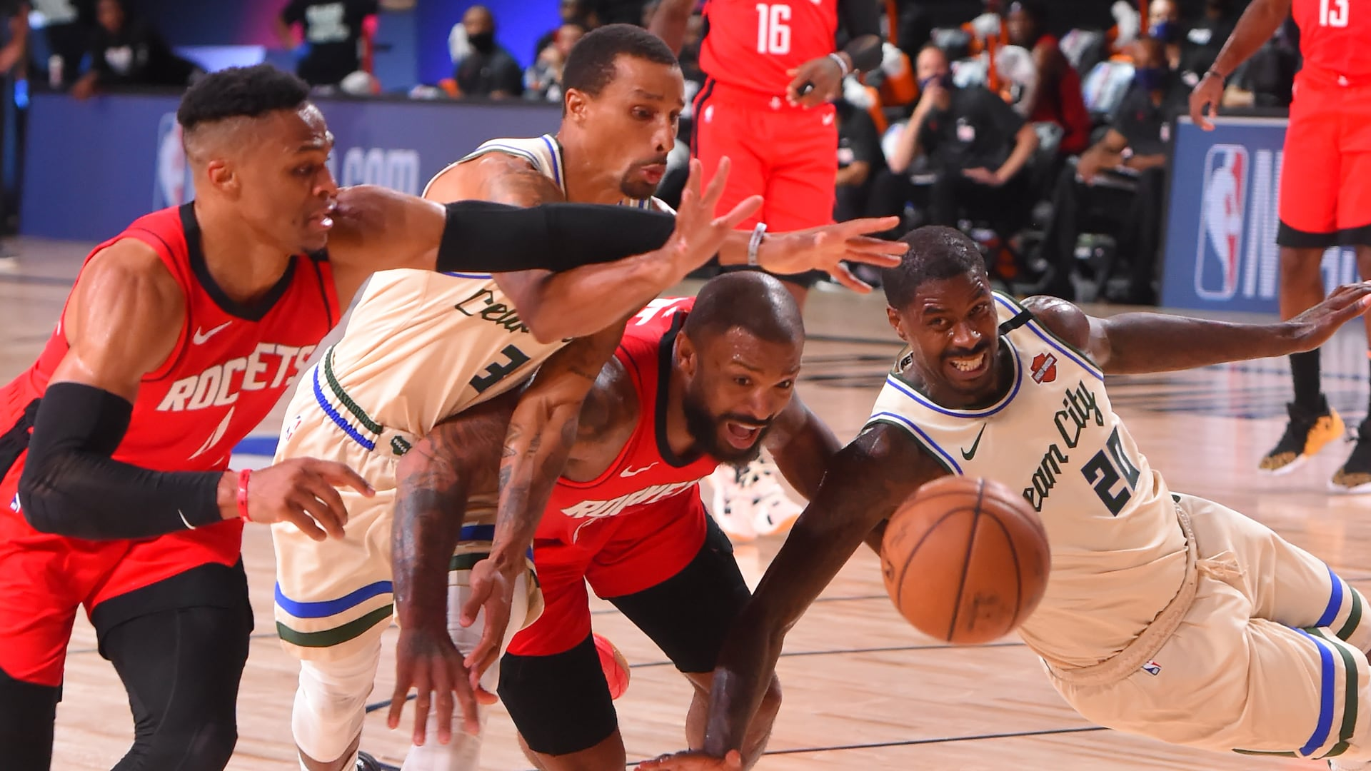 Bucks and Rockets' respective strengths, flaws on full display in dramatic meeting