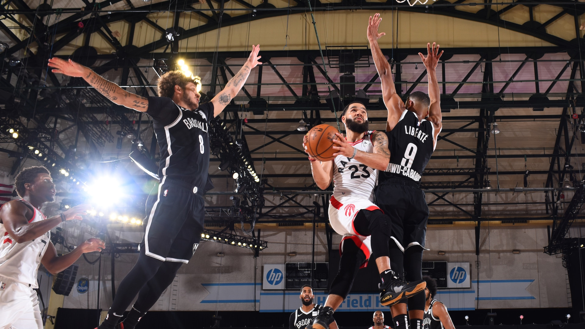 Raptors figure Nets out in 4th quarter to take 2-0 lead