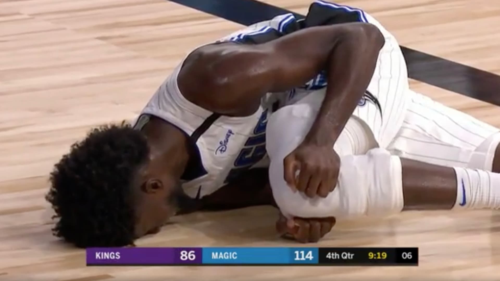 Orlando Magic's Isaac has surgery on torn ACL