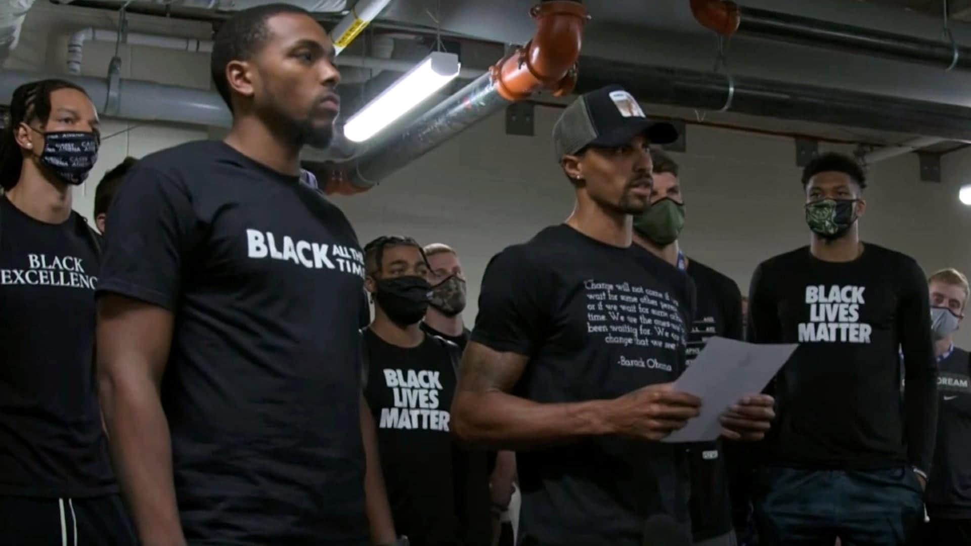 Milwaukee Bucks players' statement following boycott of Game 5