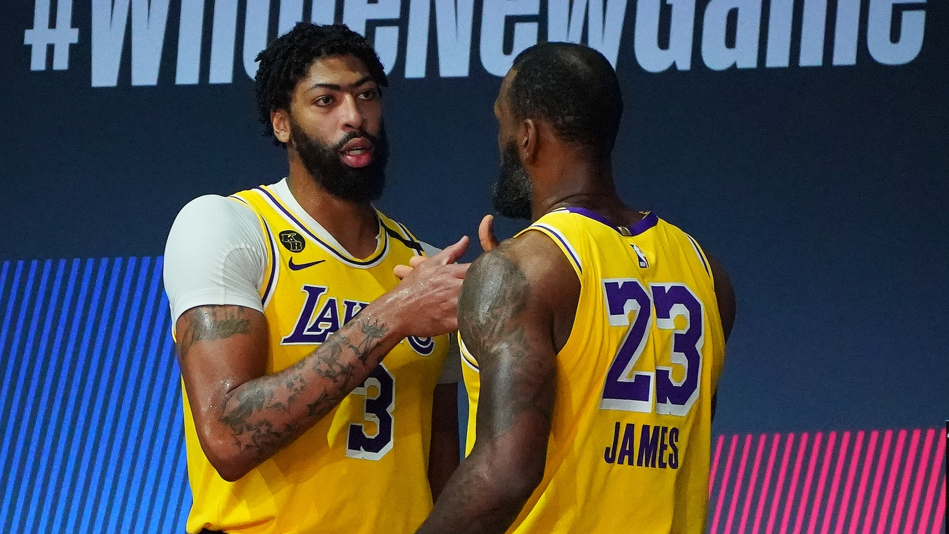 3 stats to know from Lakers' first-round series win
