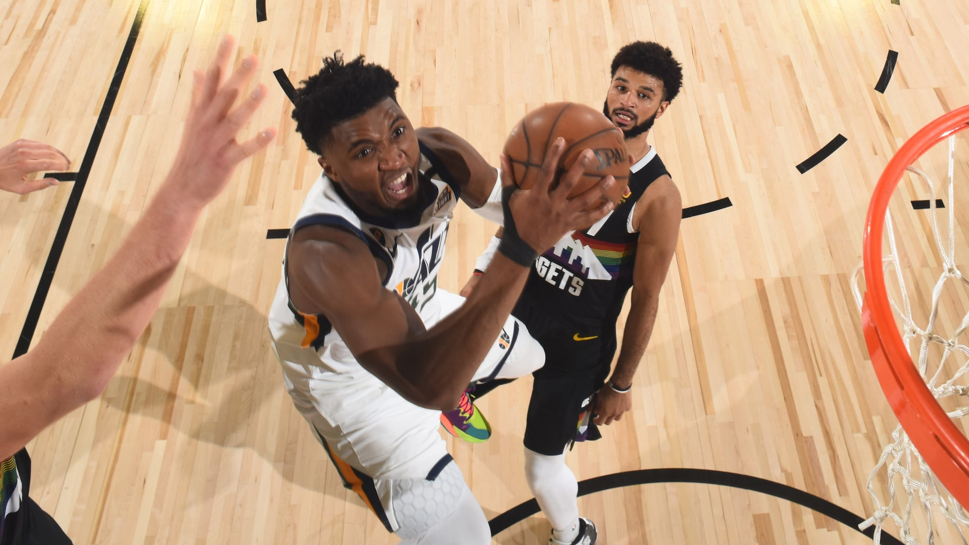 Donovan Mitchell, Jamal Murray putting each other -- and NBA -- on notice