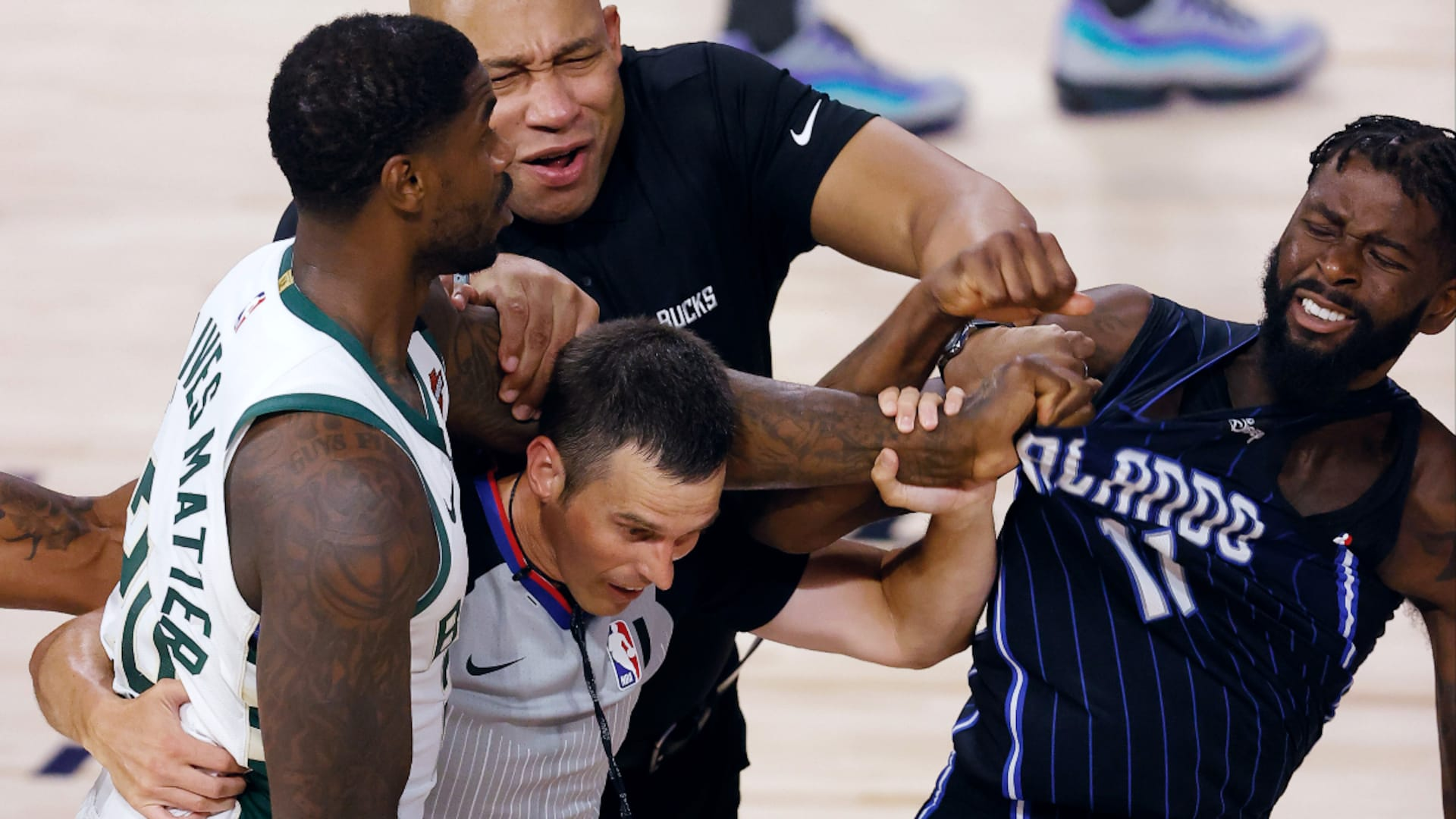 Bucks' Marvin Williams, Magic's James Ennis each fined $15K for altercation