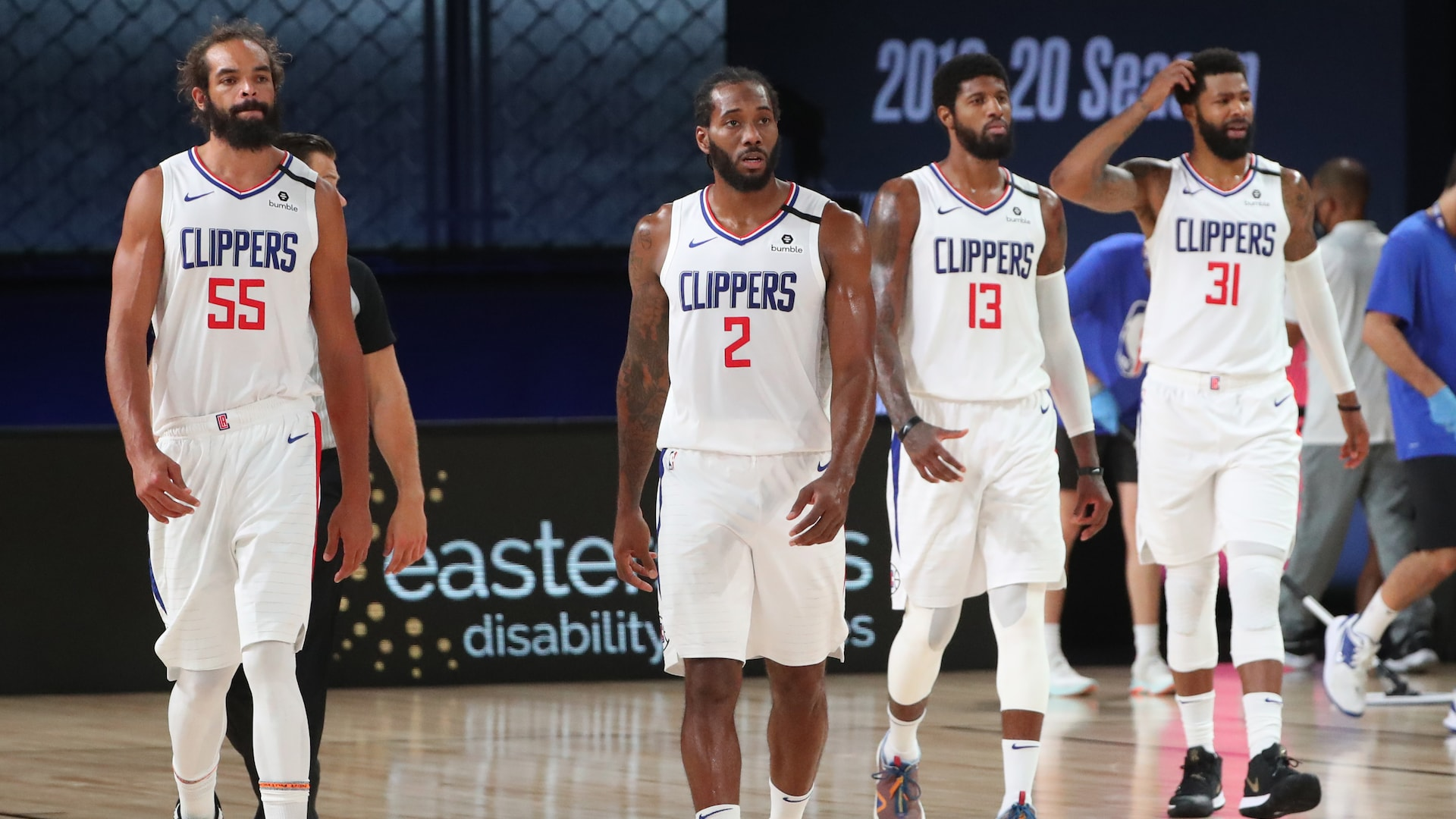 Clippers all in one place, but not yet fully together