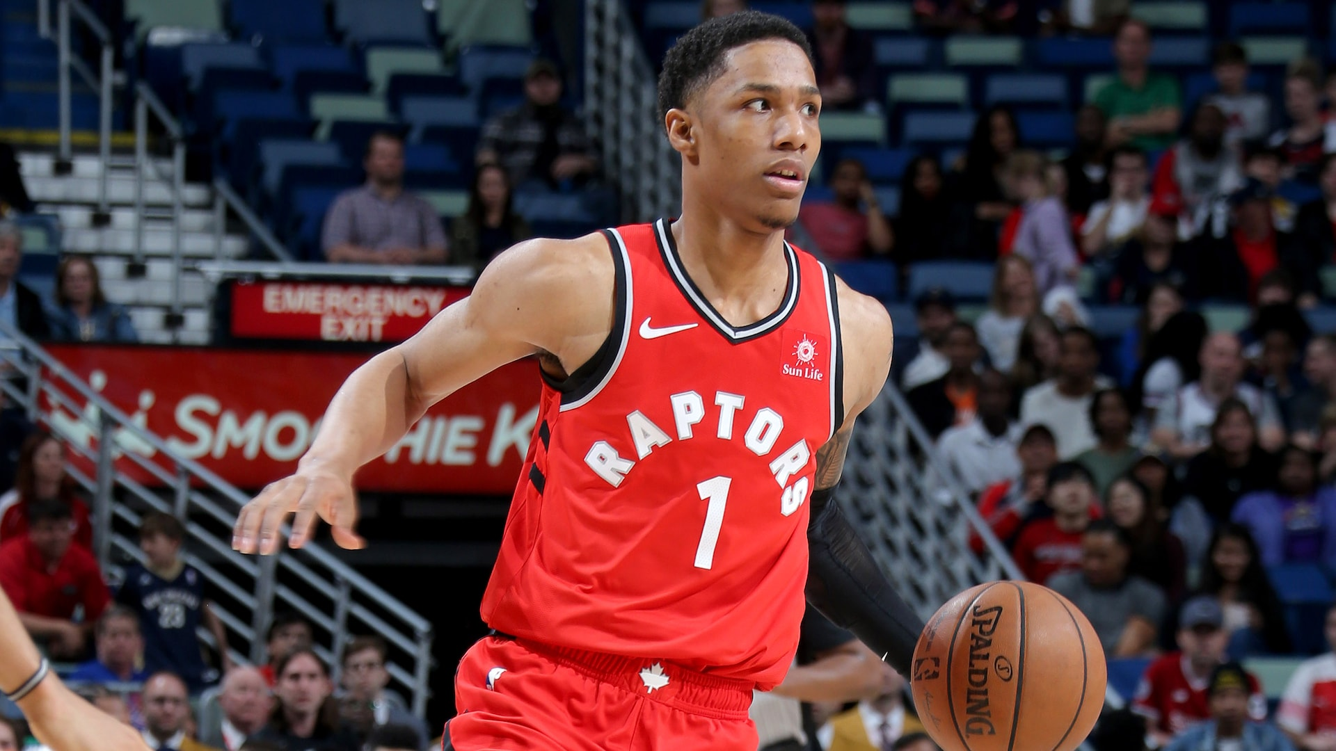 Toronto's Patrick McCaw leaving NBA Campus to treat benign mass on knee
