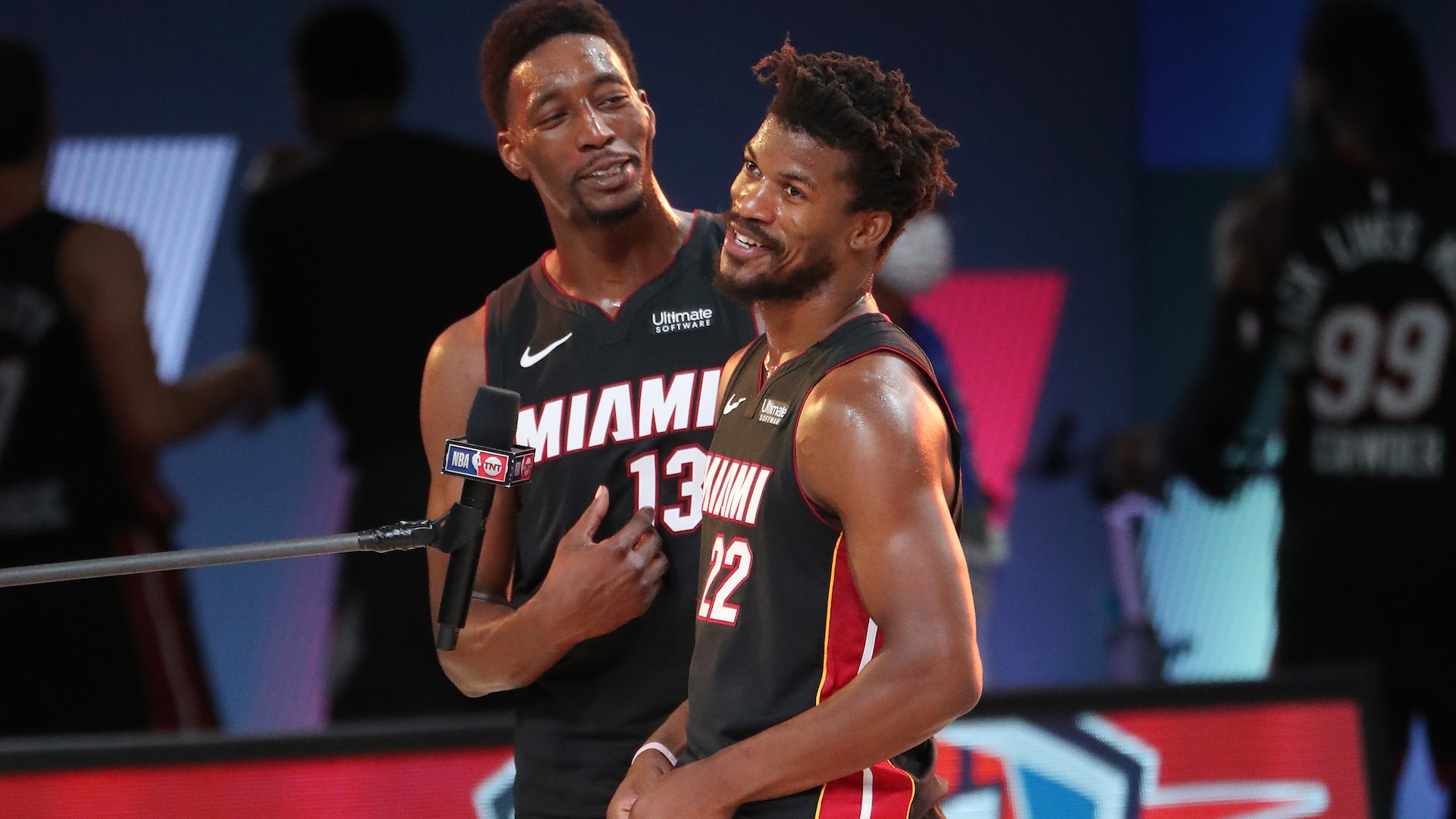 Bam's big moments: Adebayo helps Heat dig one 'out the mud'