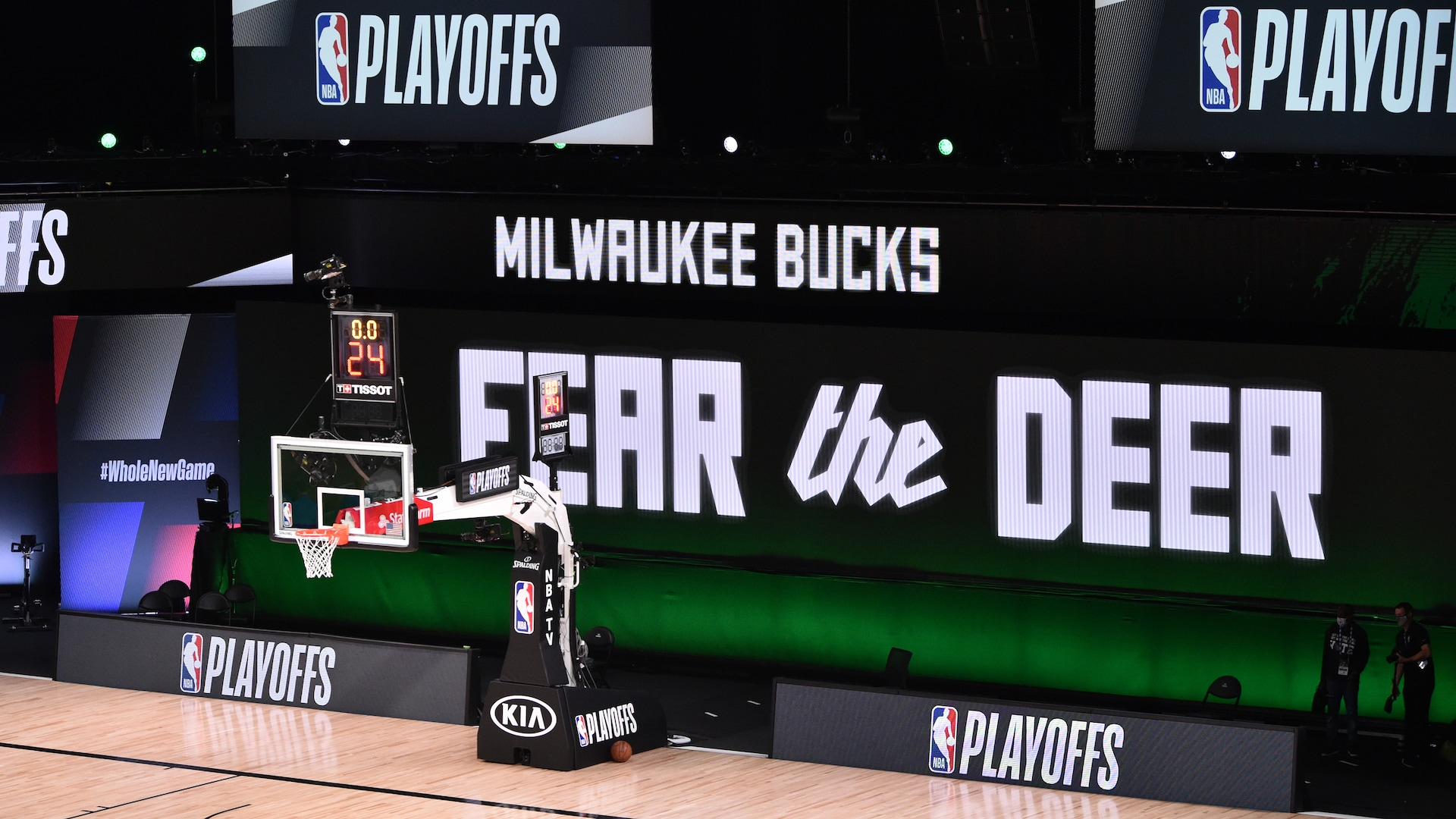 Bucks return to practice, ready to finish what they started