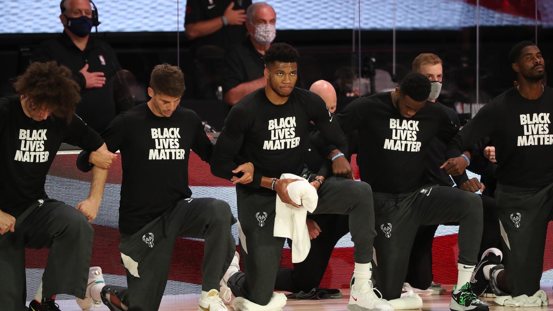 Jacob Blake's shooting by Kenosha police redoubles Bucks' focus on social justice