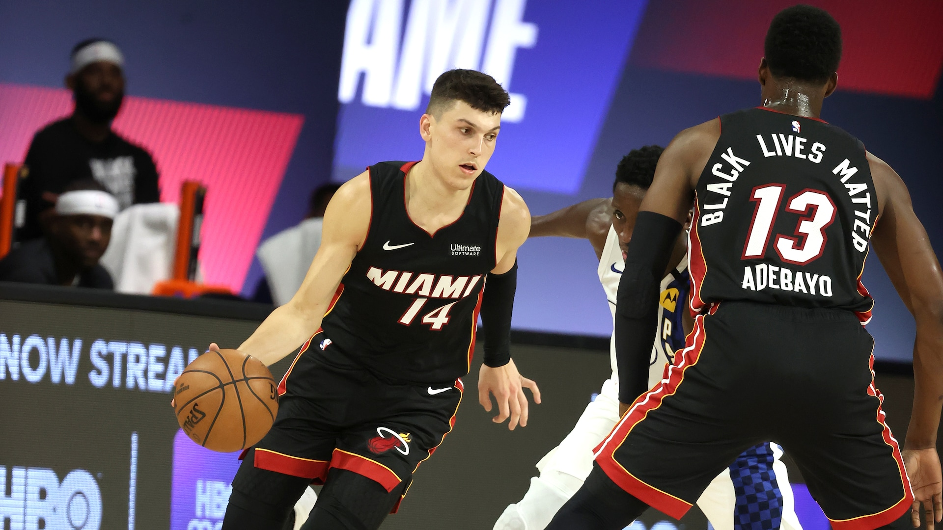 Season's worth of veteran savvy pays youth dividends for Heat