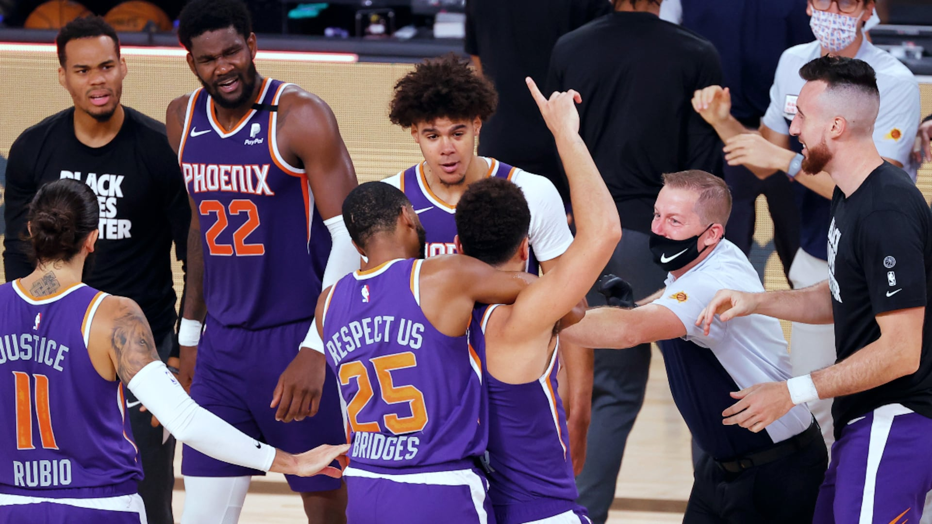 Phoenix stunning NBA world with red-hot restart