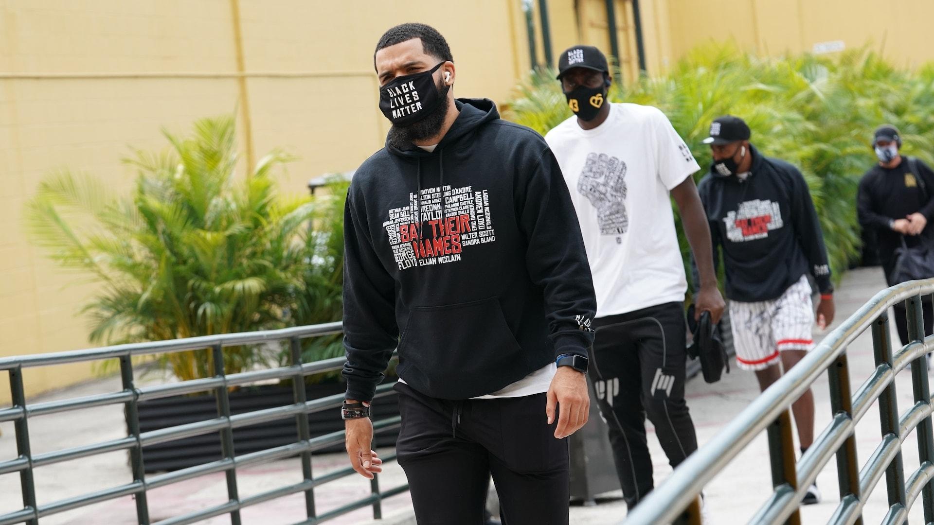 Raptors pause basketball talk after Jacob Blake shooting