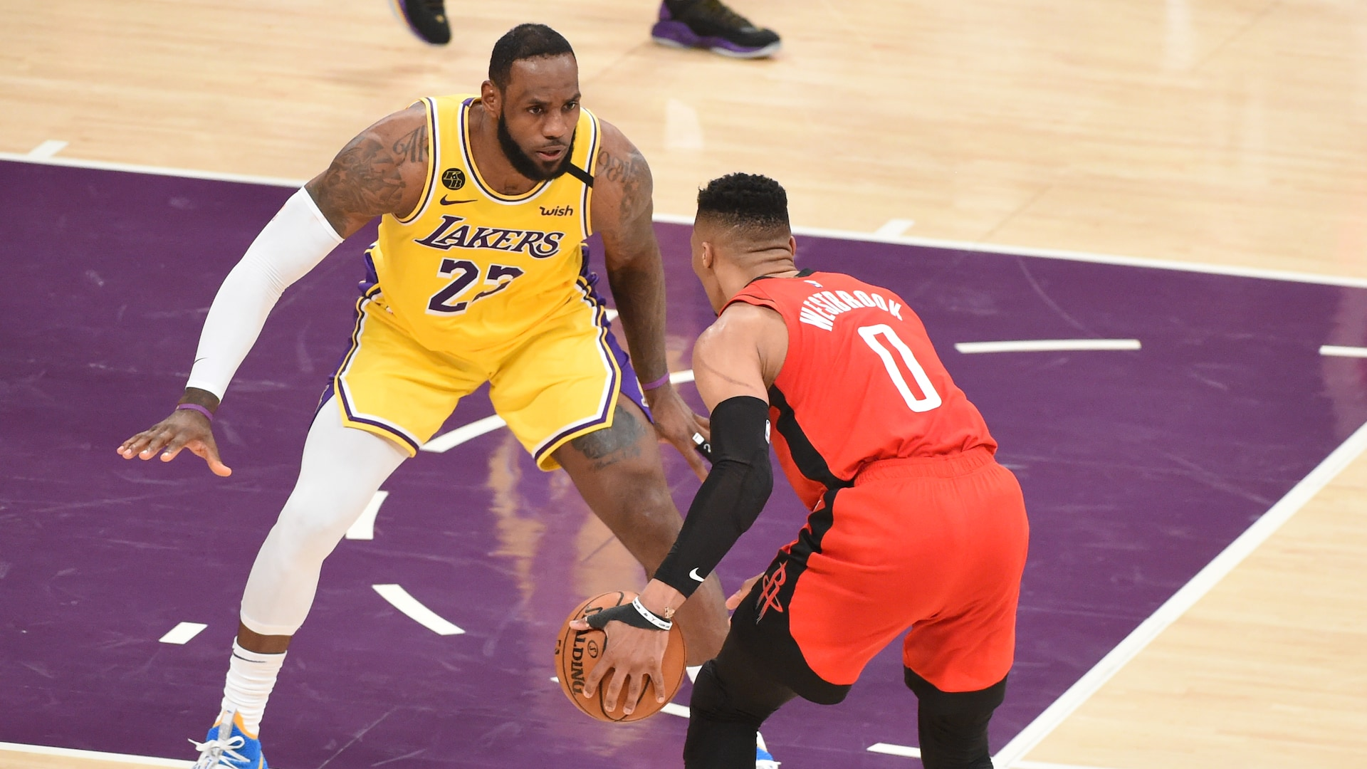 LeBron James, Russell Westbrook out for Lakers-Rockets