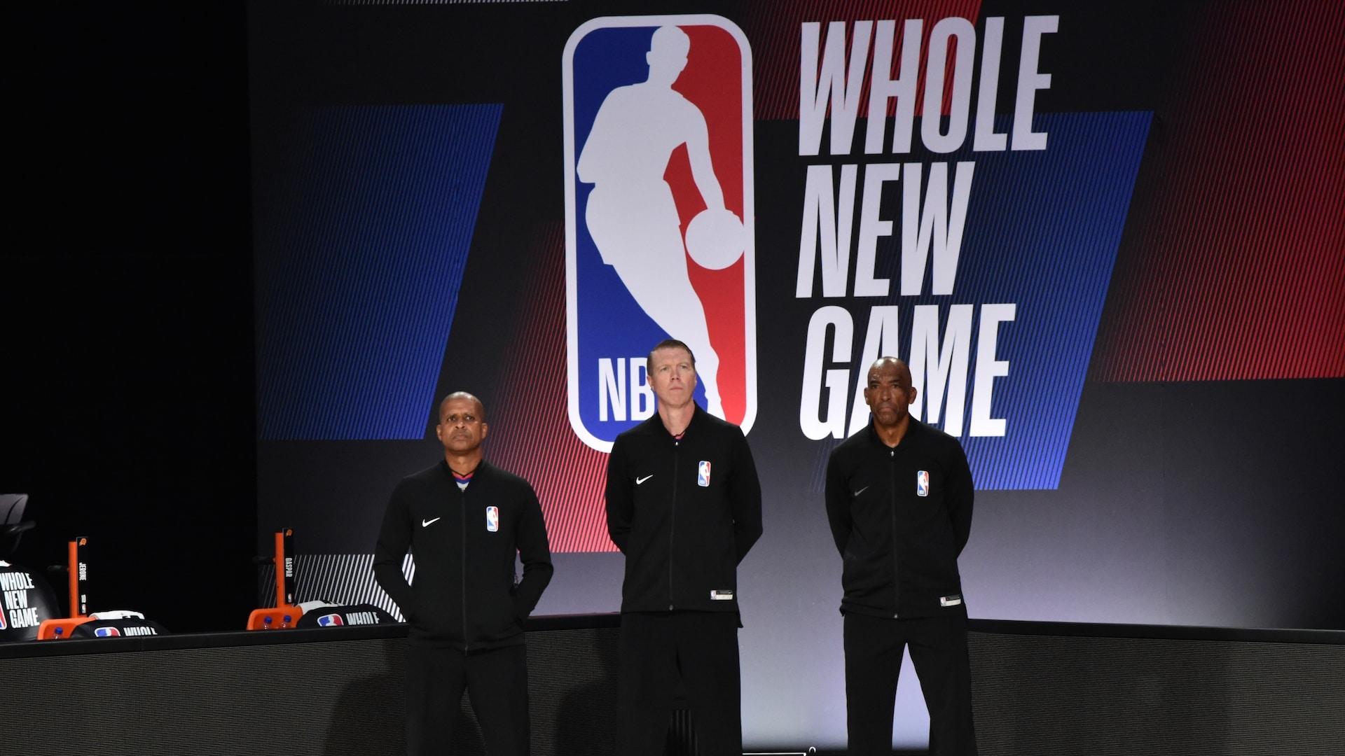 NBA announces 2020 playoff officials