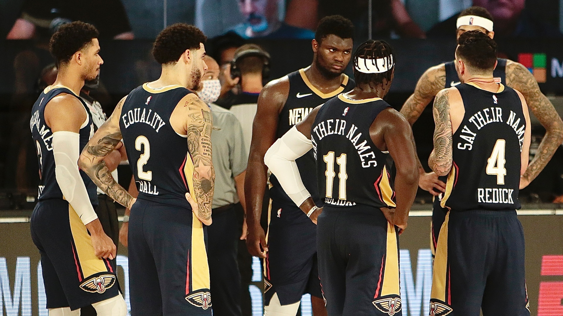 Teams gear up for unknown as they leave NBA campus