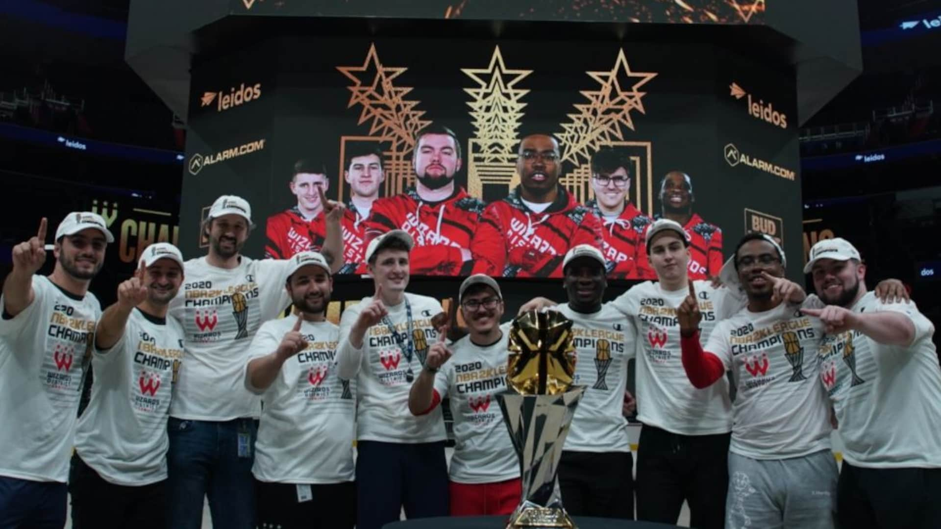 Wizards District Gaming tops Warriors for NBA 2K League title