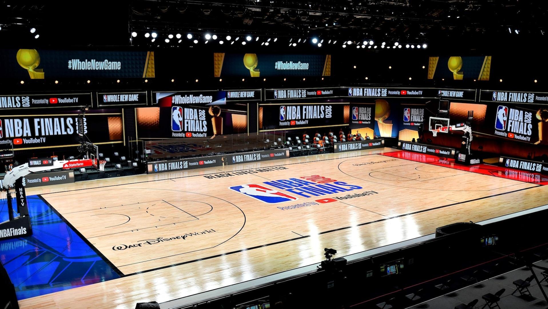 NBA unveils court design for 2020 NBA Finals