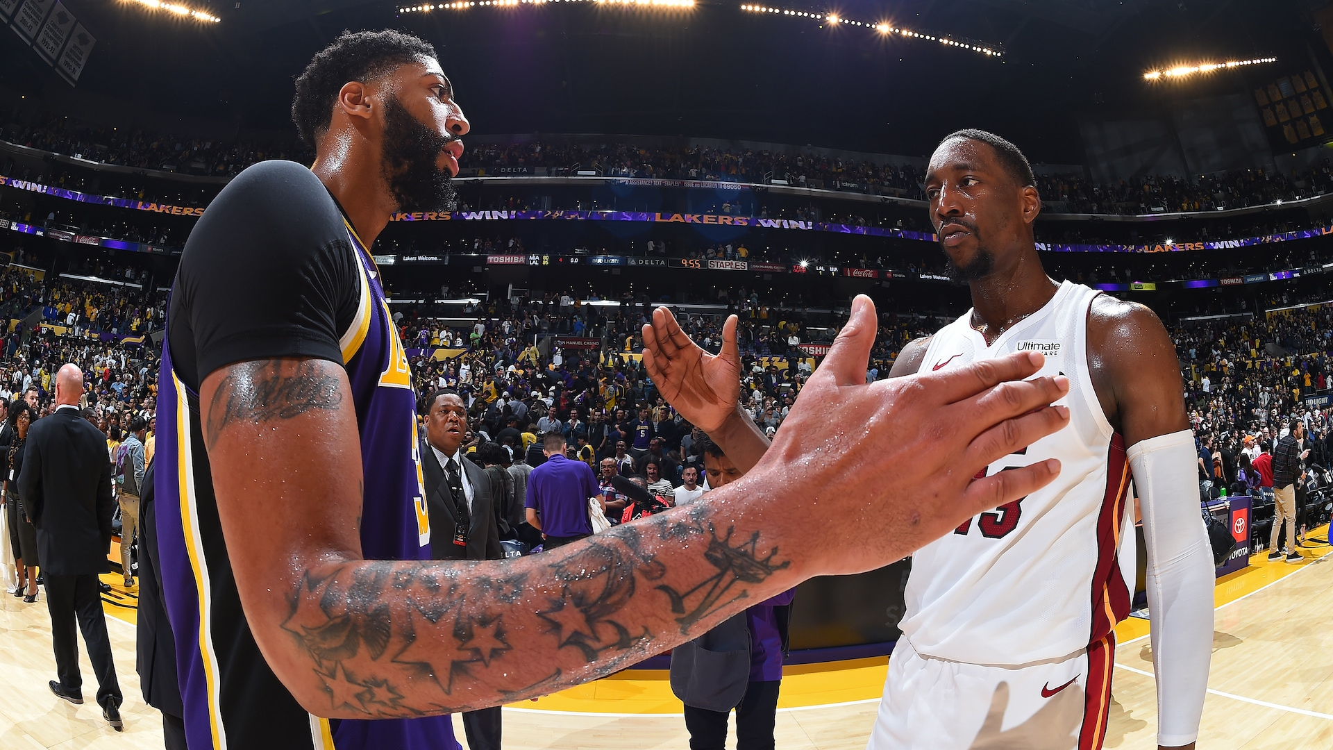 Numbers preview: The Finals -- Los Angeles Lakers vs. Miami Heat