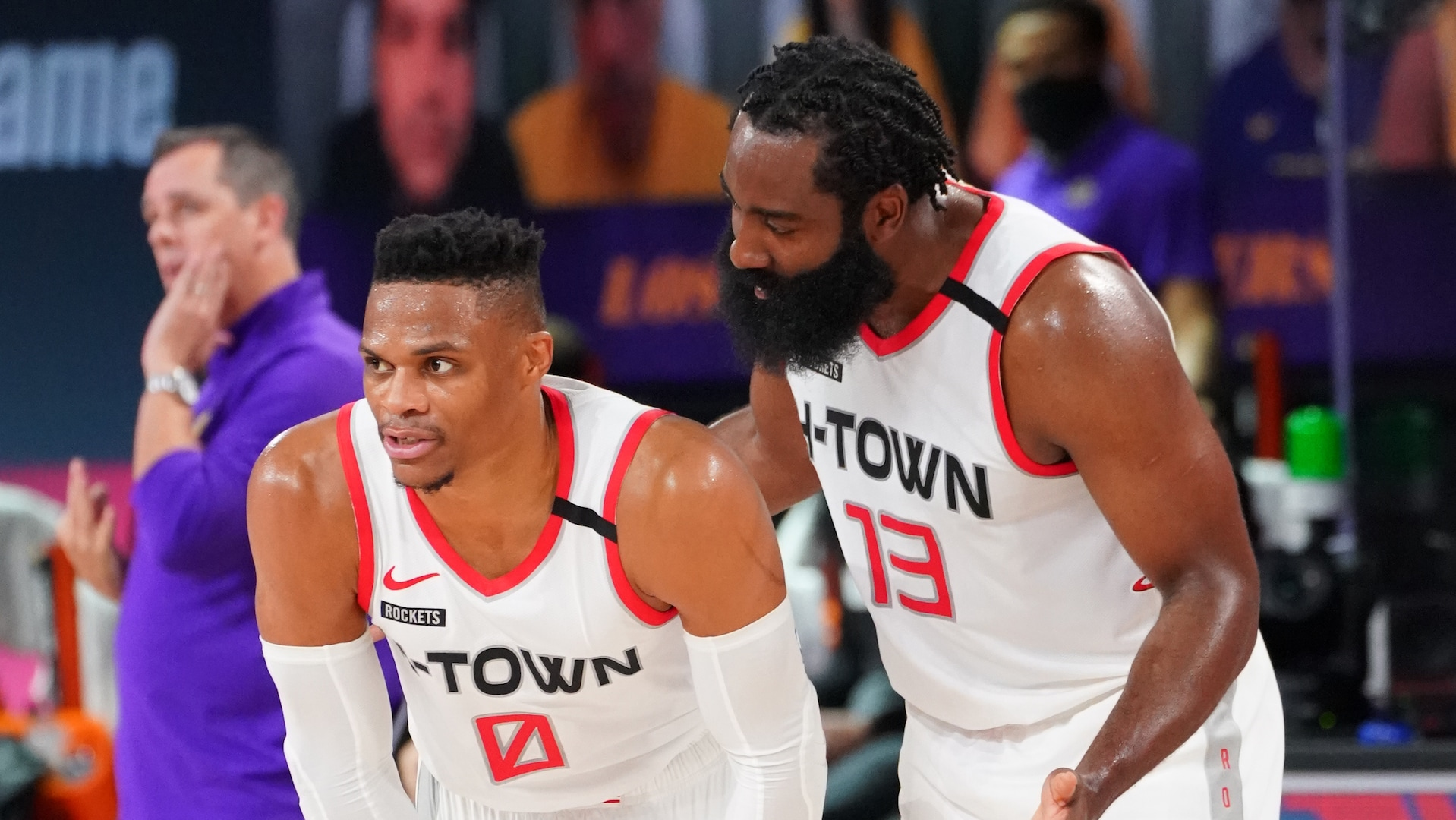 James Harden: Houston's confidence 'skyrocketing' despite Game 2 loss