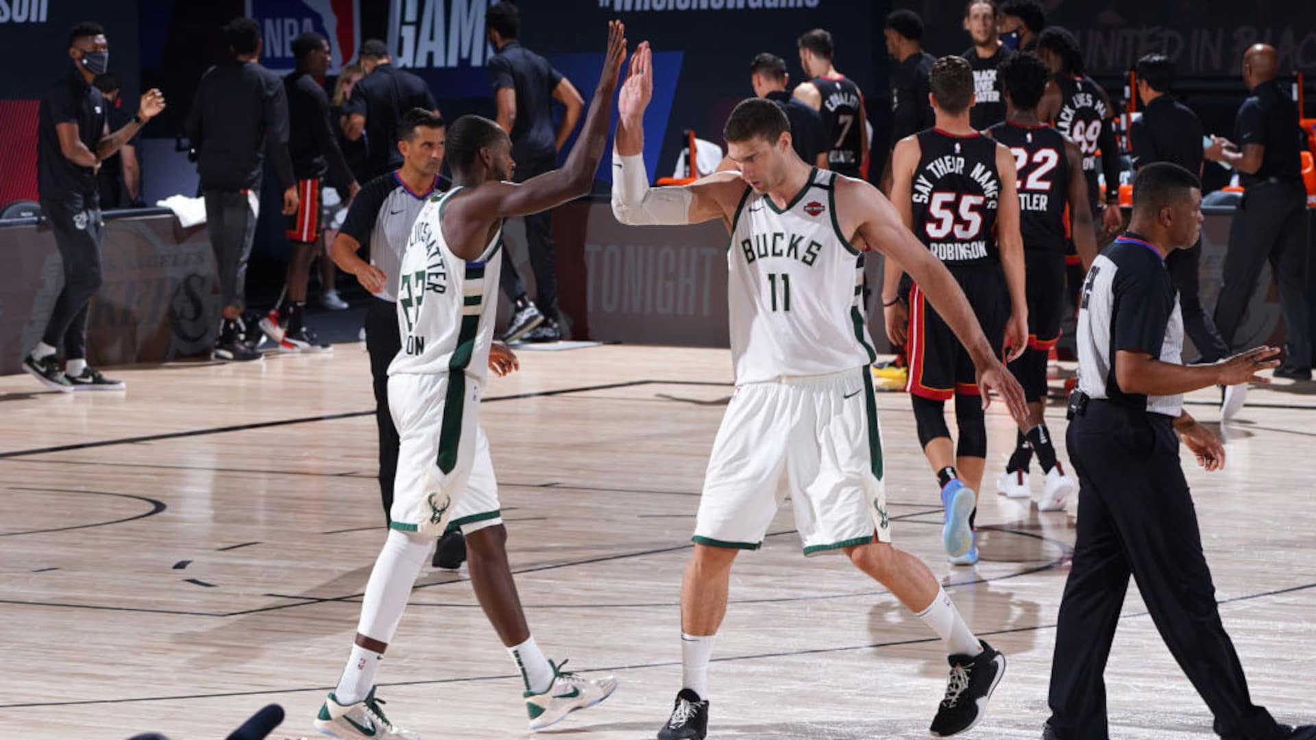 Without Giannis Antetokounmpo, Bucks' supporting cast unites to save season