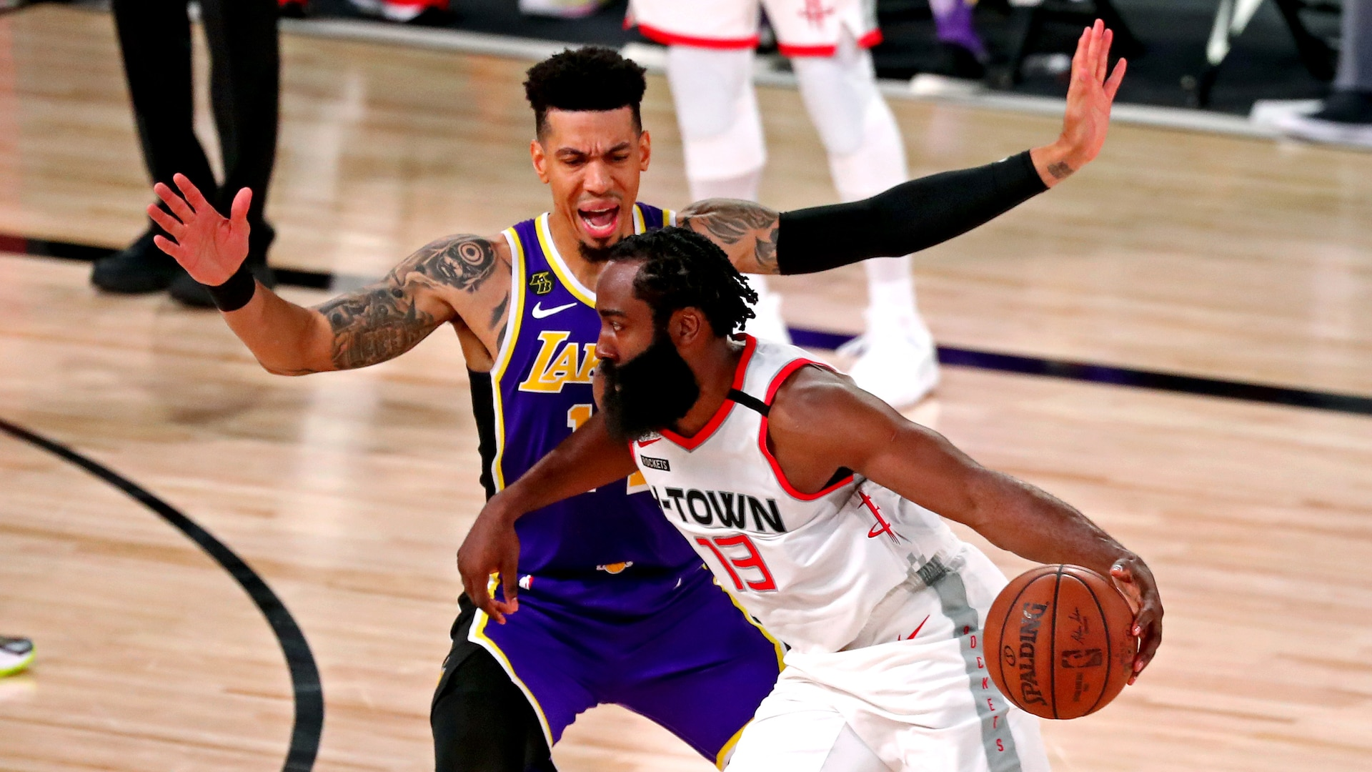 Lakers 'got a feel' of what the fast-paced Rockets bring to the table