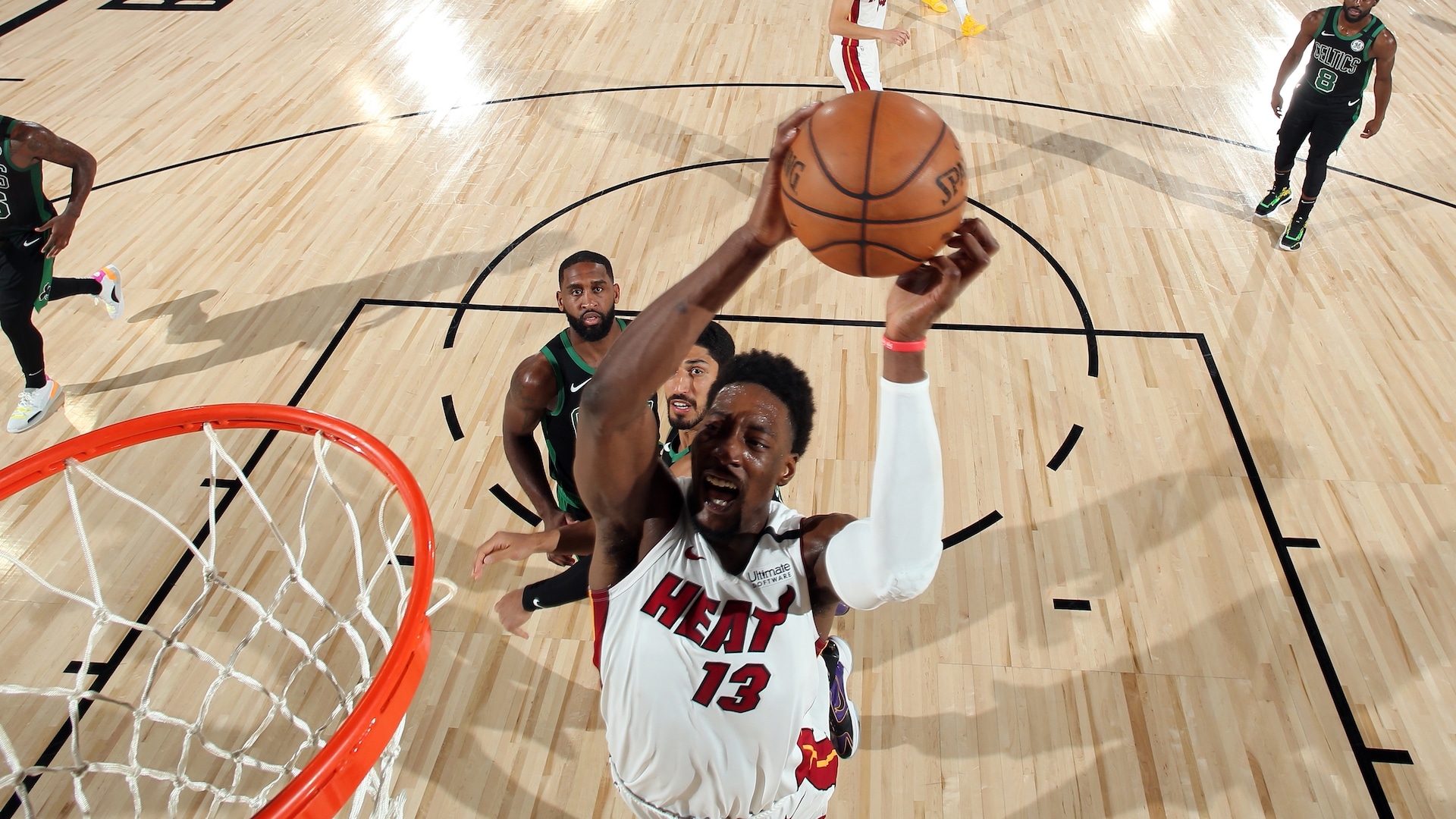 Heat's latest knockout quarter sets Celtics on their heels