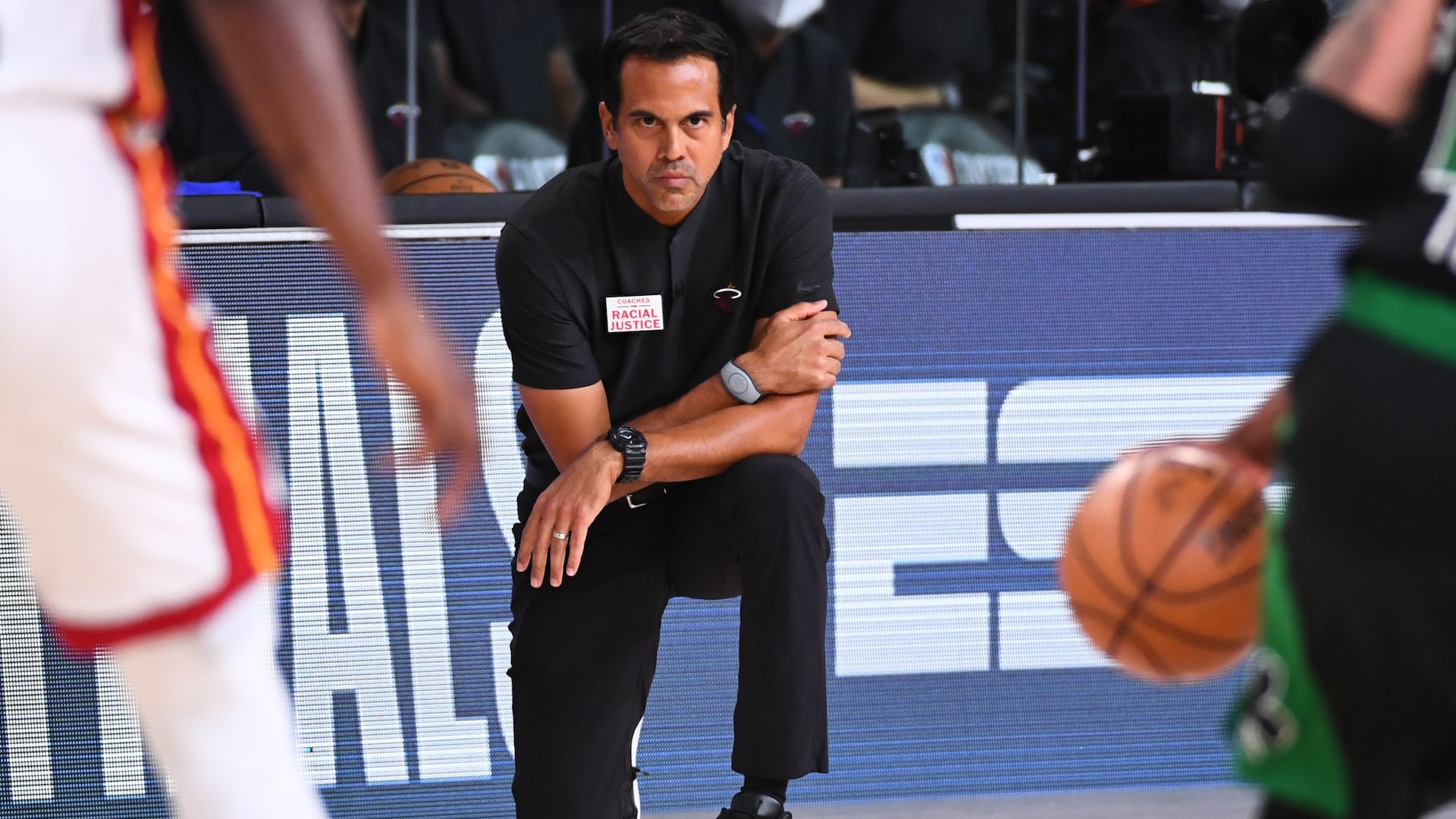 Opposing coaches Brad Stevens, Erik Spoelstra have healthy respect for one another