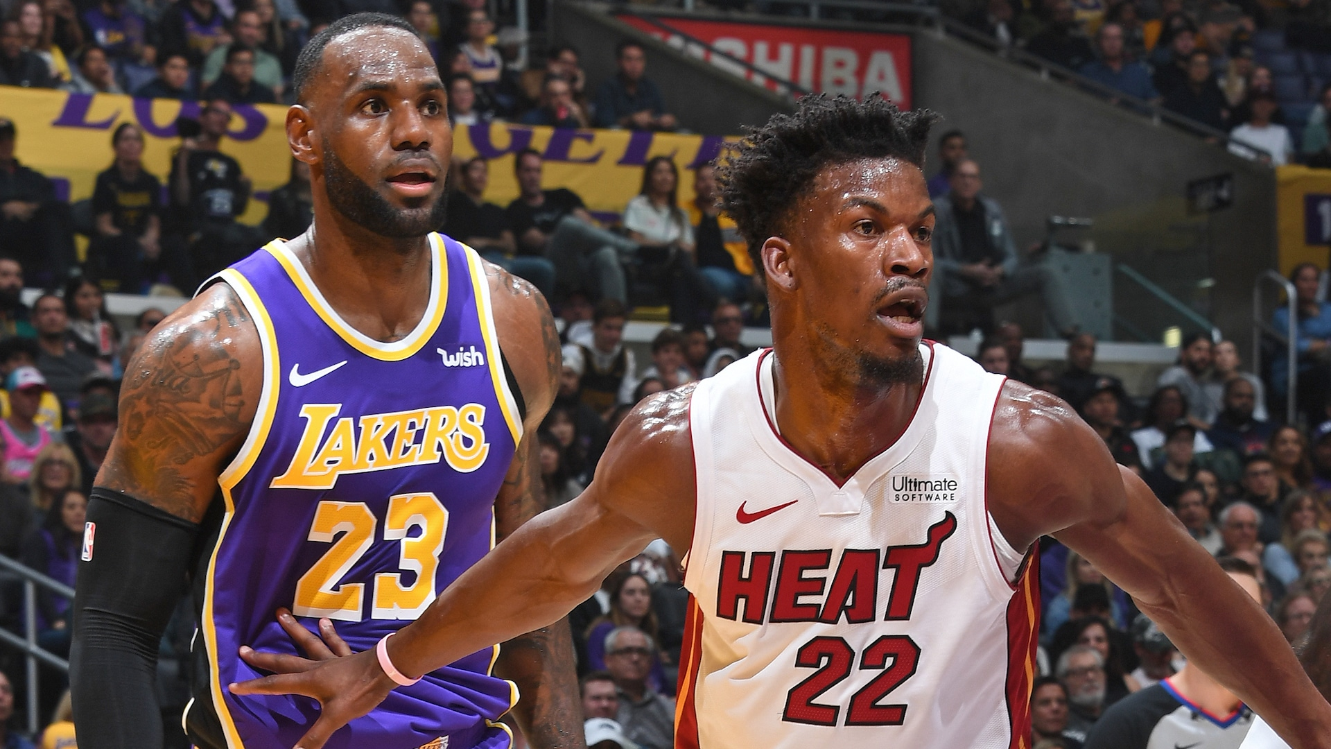 Lakers, Heat get started with their Finals preparations
