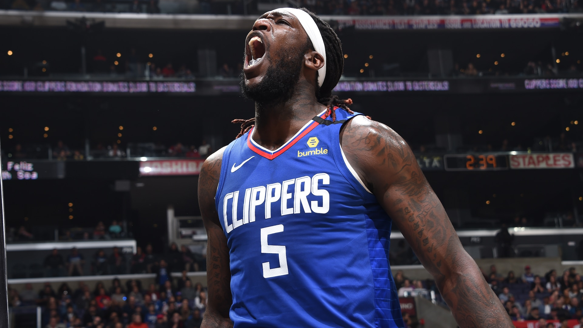 Clippers' Montrezl Harrell wins 2019-20 Kia NBA Sixth Man Award