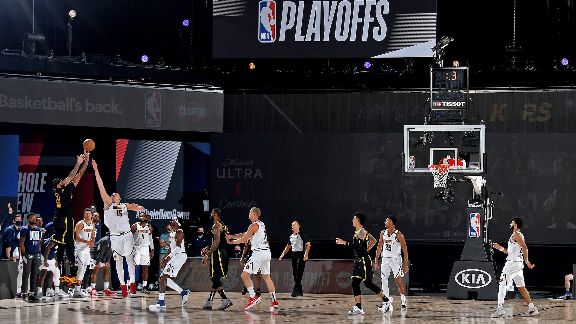 Nuggets botch final play, and what could be their best chance