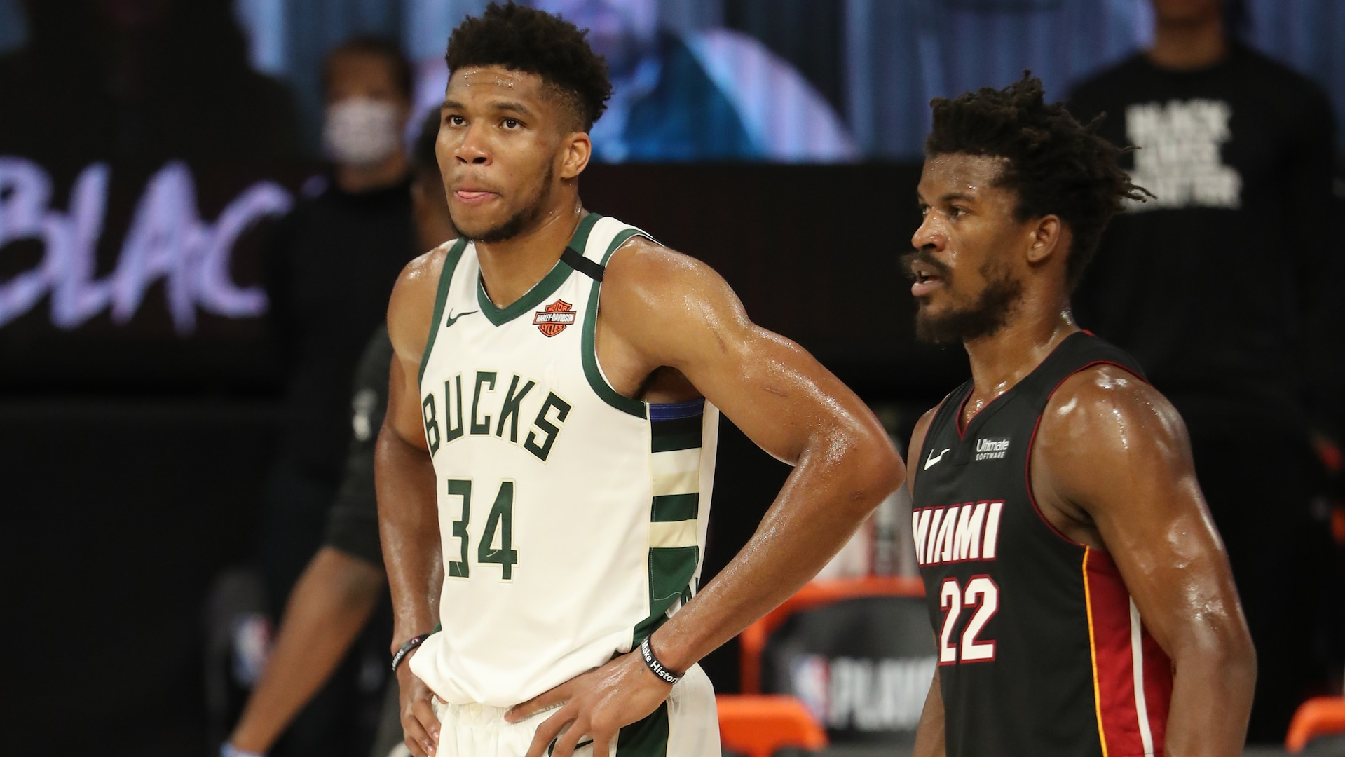 Heat's record-setting 4th quarter pushes Bucks to the brink