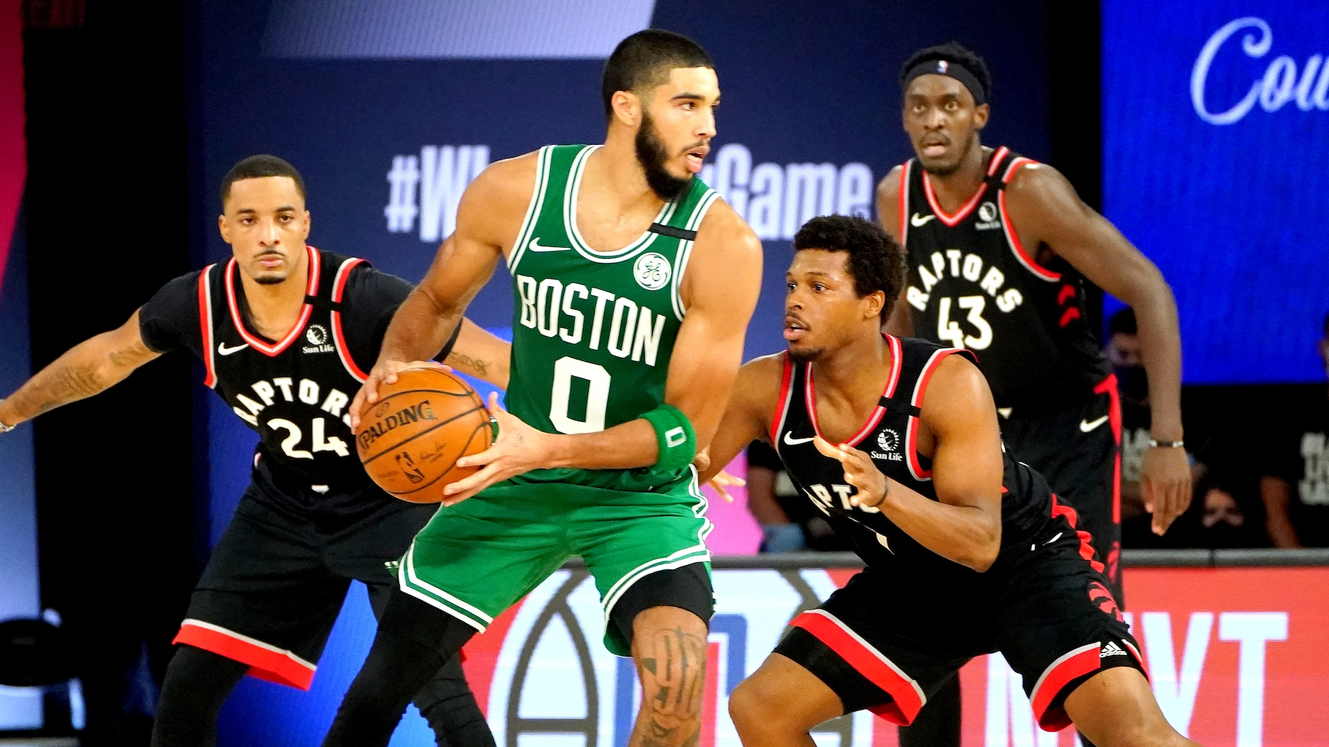 Raptors' quick hands disrupt Celtics' race to conference final