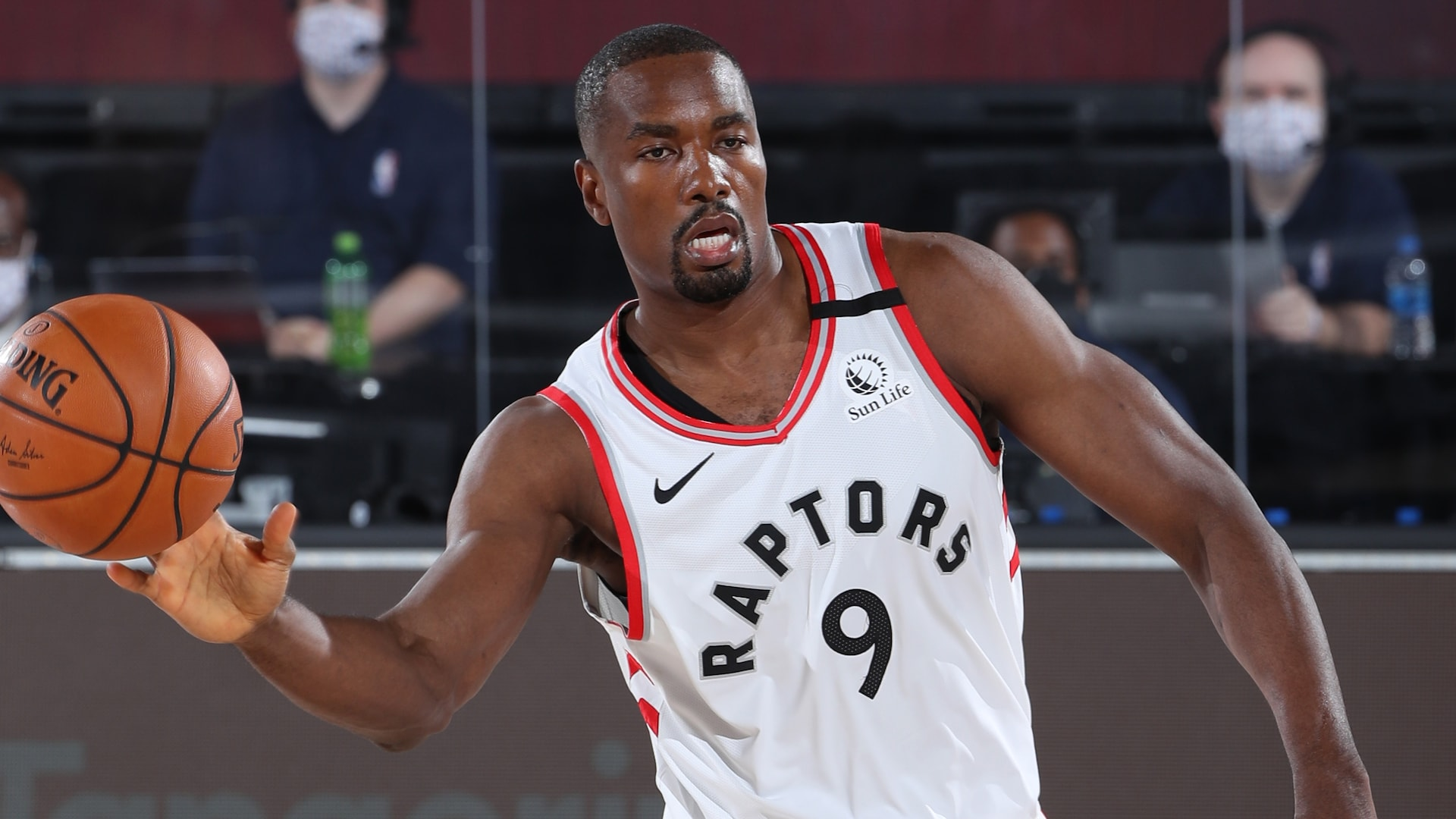 Serge Ibaka (ankle) unsure if he'll play in Game 6