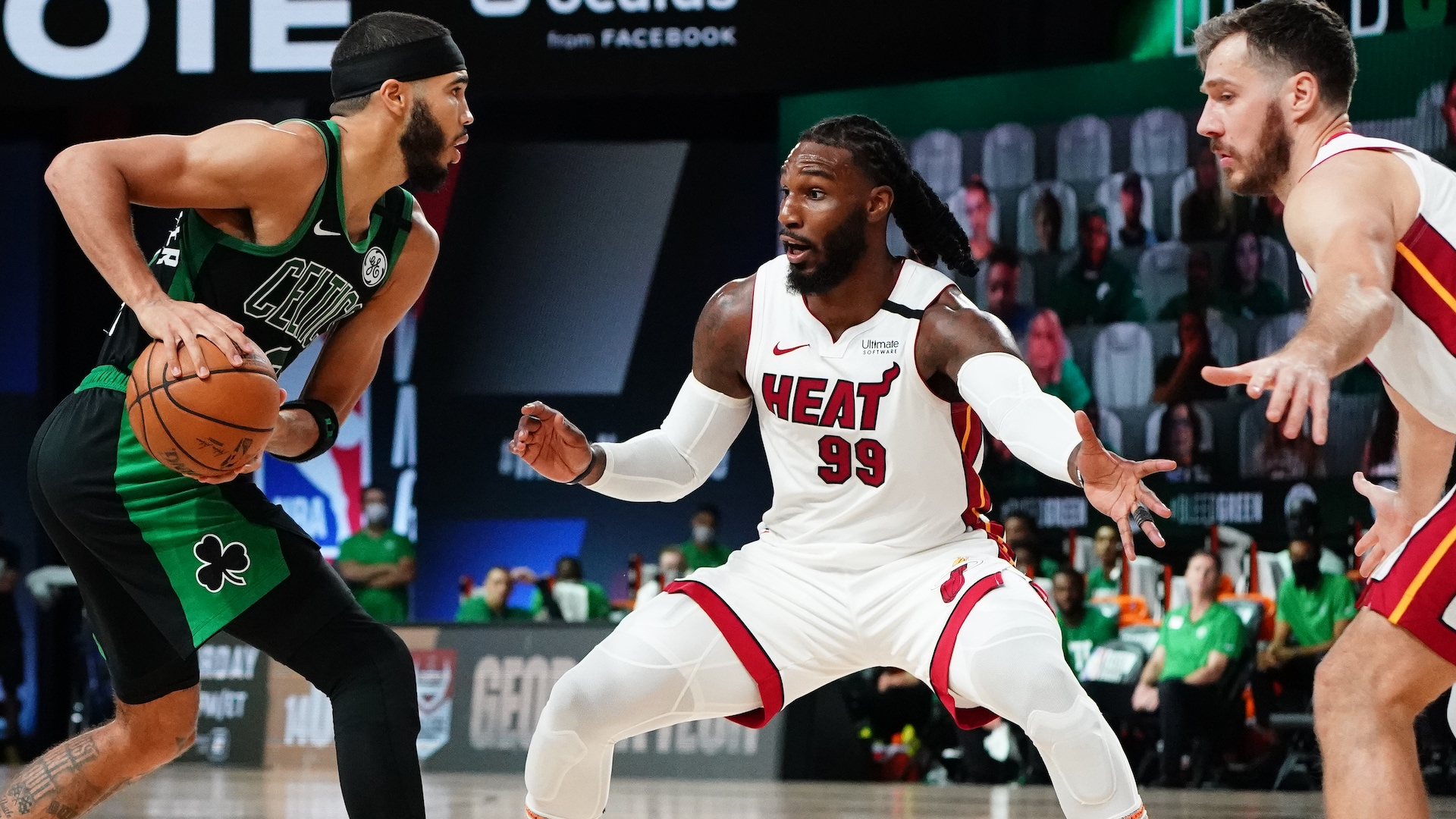 Film Study: Heat's zone defense sends Celtics south in Game 2