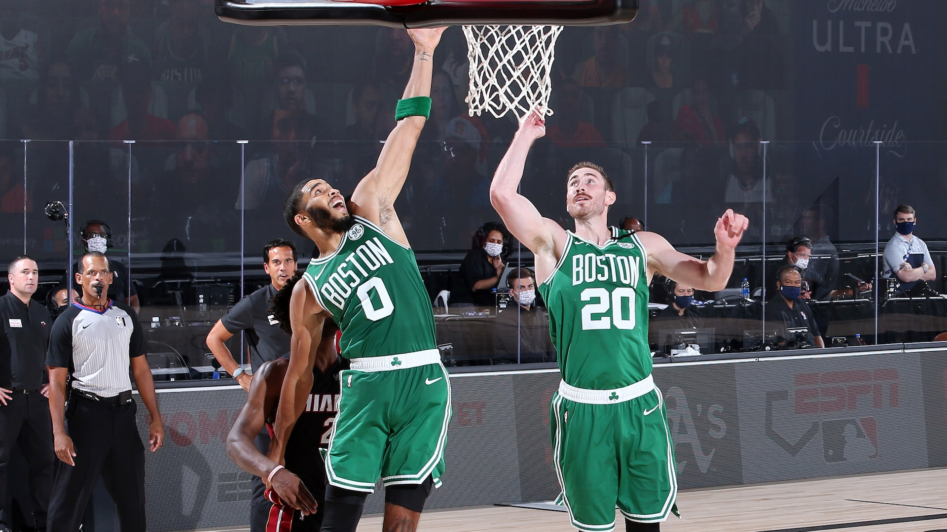 Gordon Hayward adds new dimension to Celtics' small-ball lineup