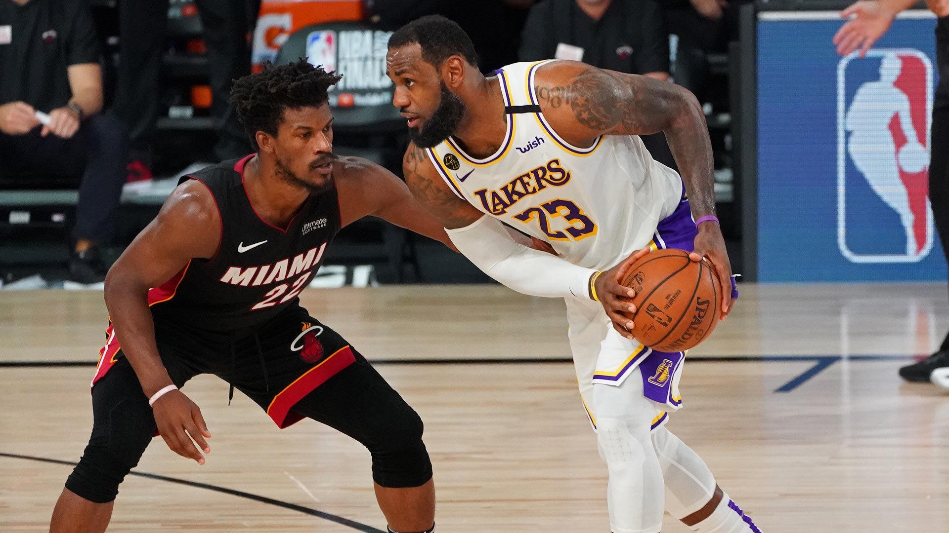 NBA Finals Game 6 Charts