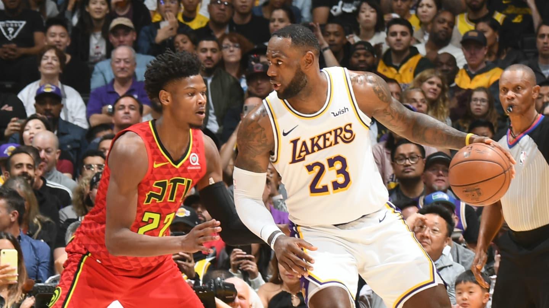 Hawks @ Lakers