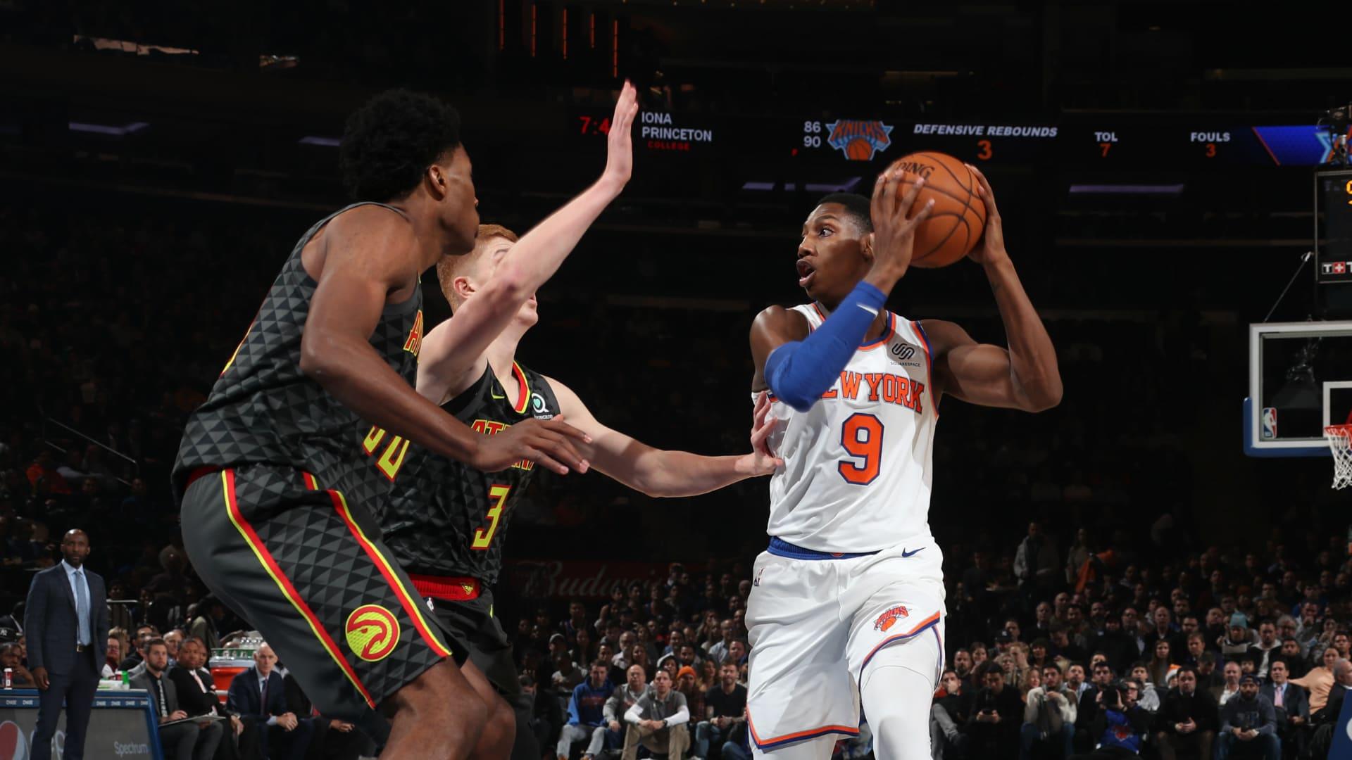 Hawks @ Knicks