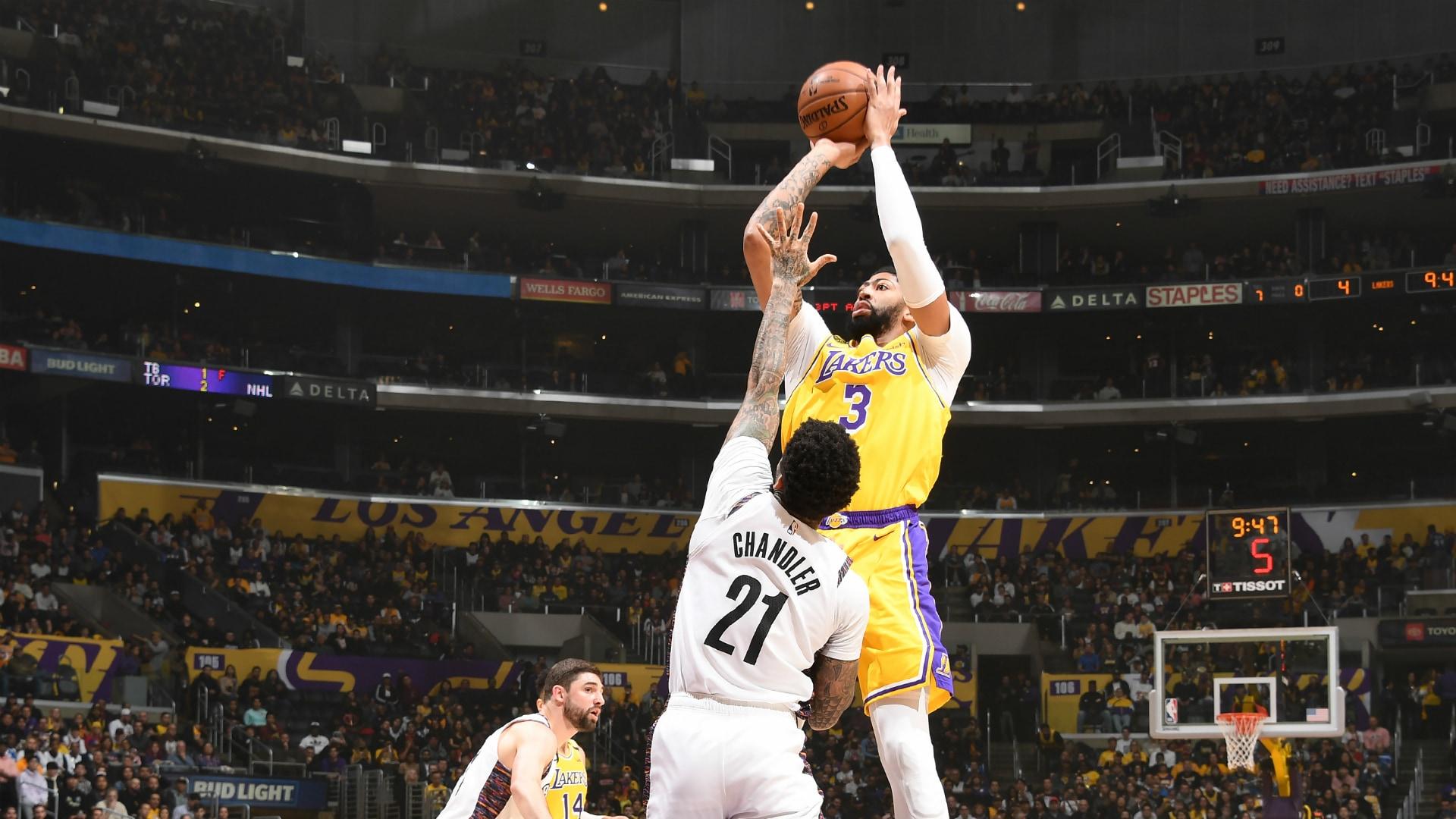 Nets @ Lakers