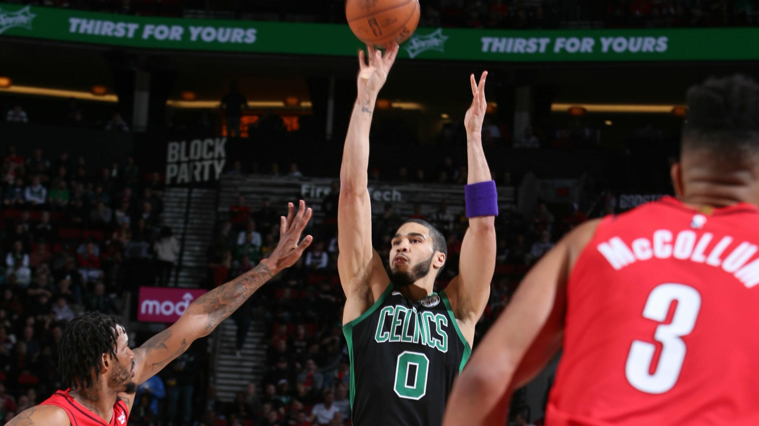 Celtics @ Trail Blazers