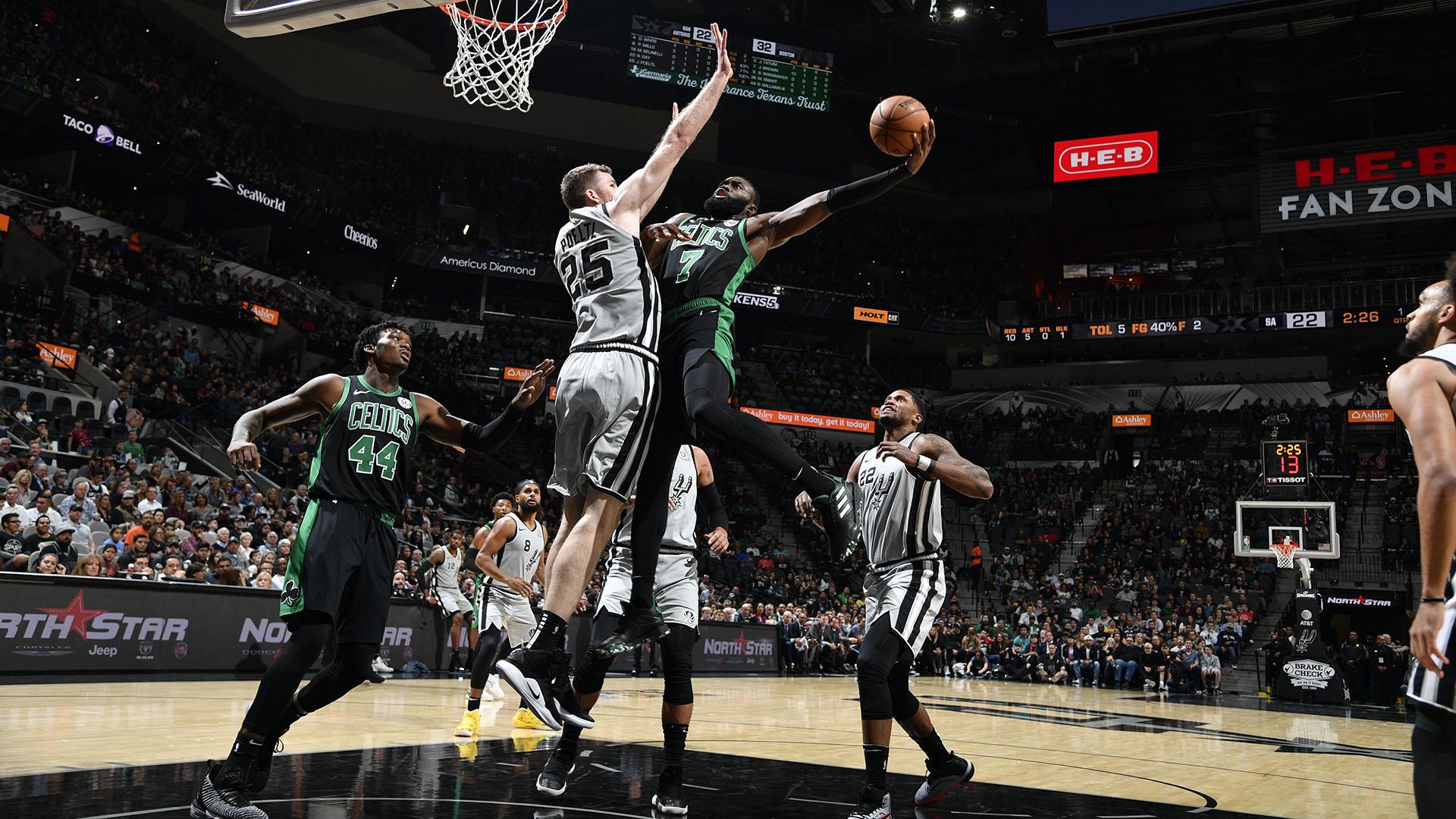 Celtics @ Spurs