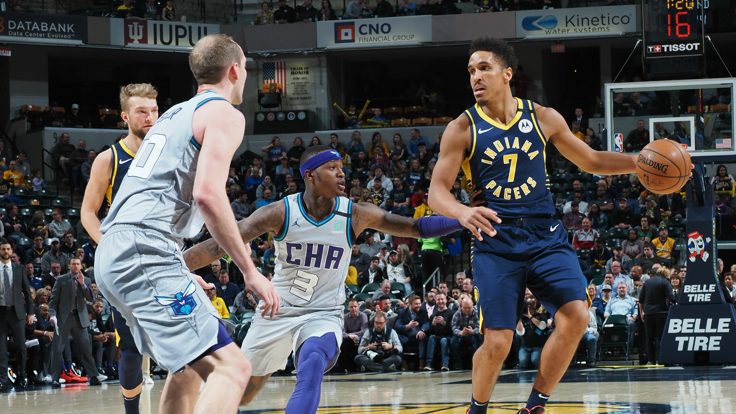 Hornets @ Pacers