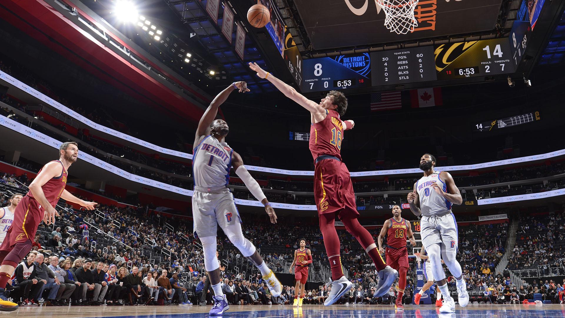 Cavaliers @ Pistons