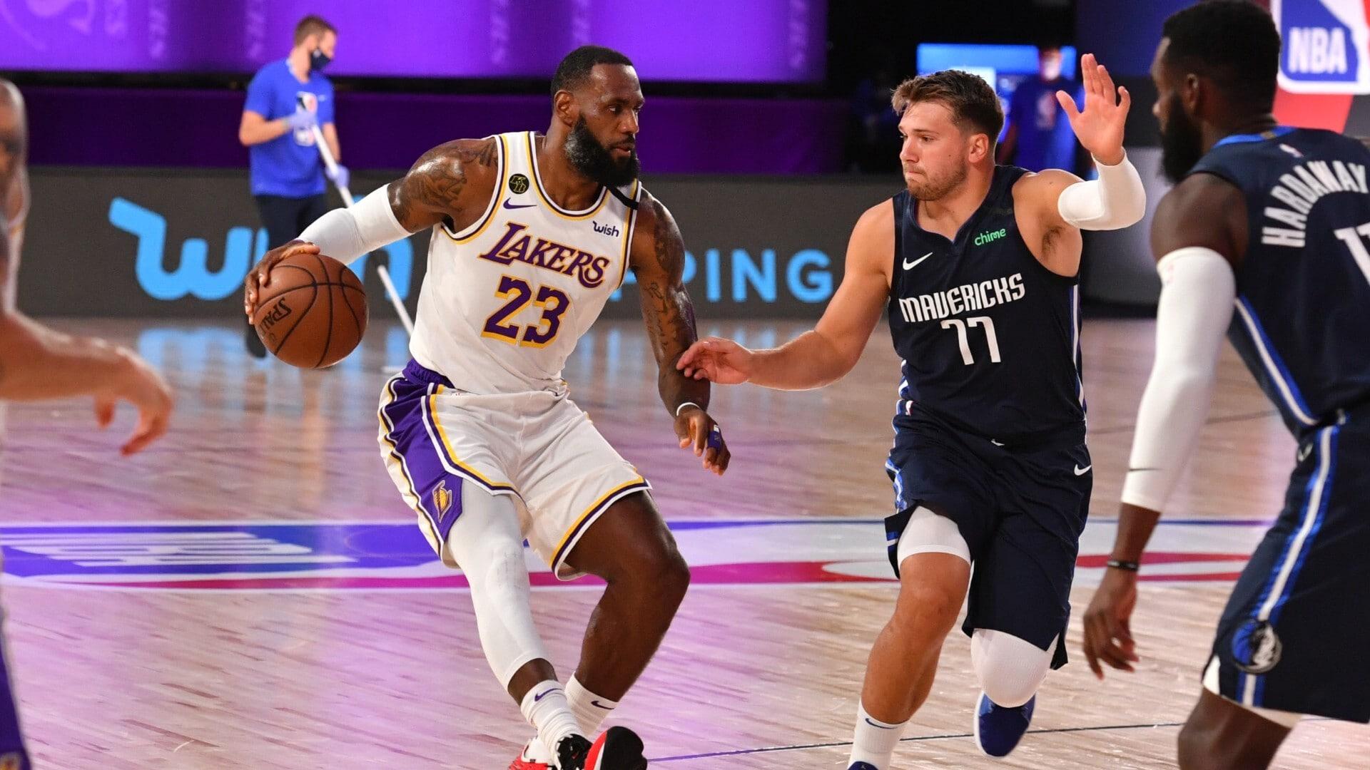 Mavericks @ Lakers