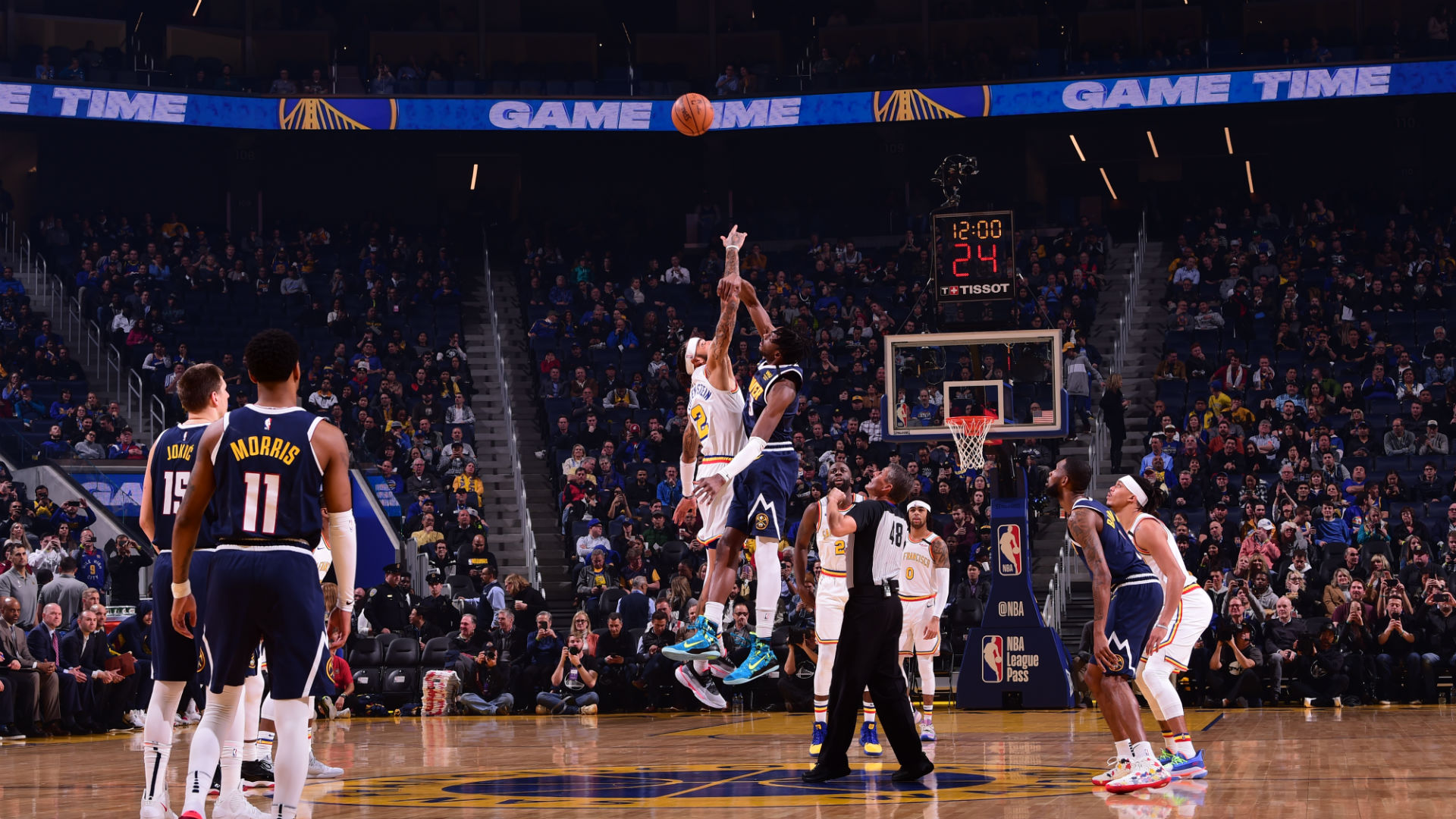 Nuggets @ Warriors